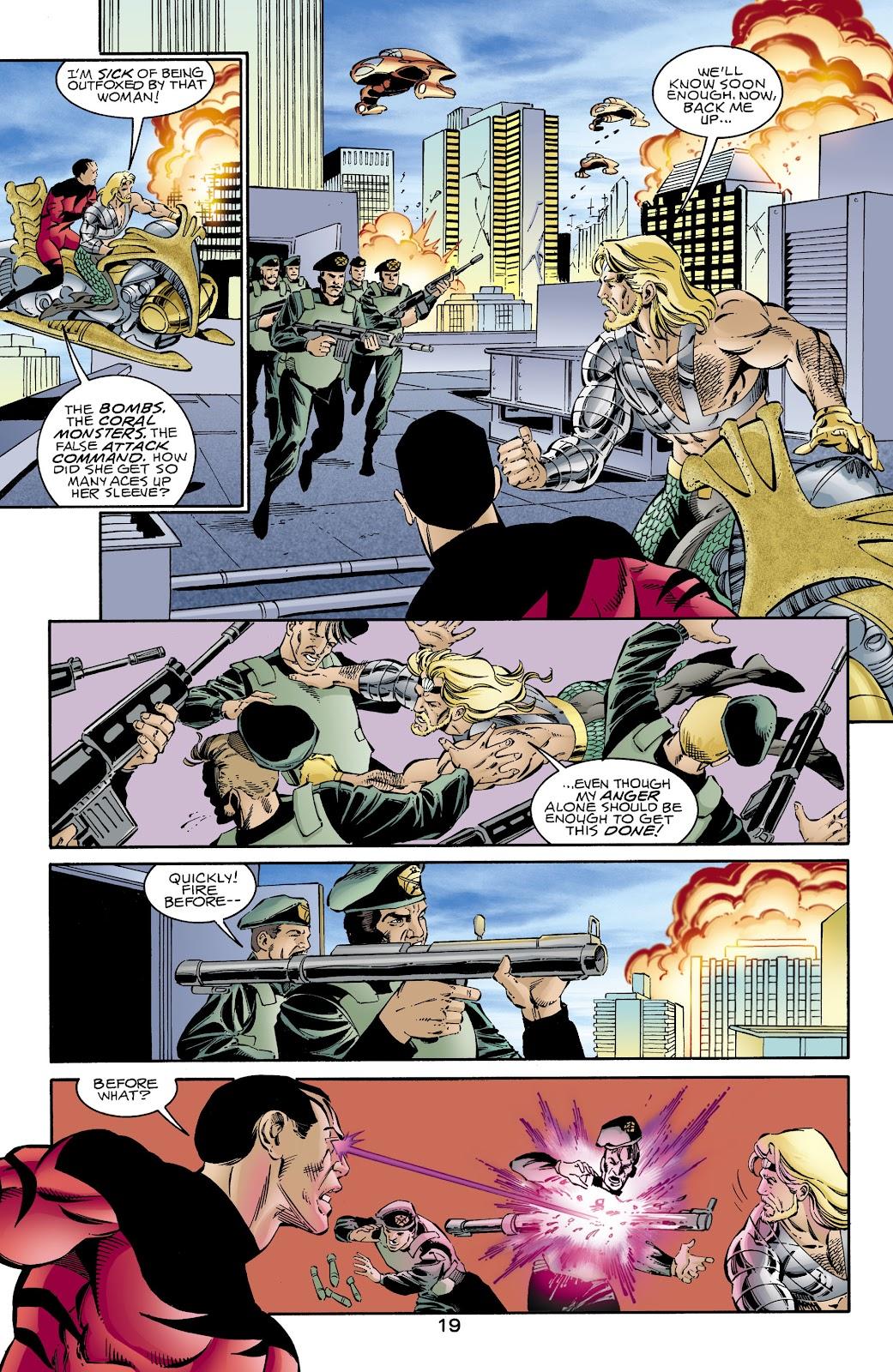 Aquaman (1994) Issue #66 #72 - English 19