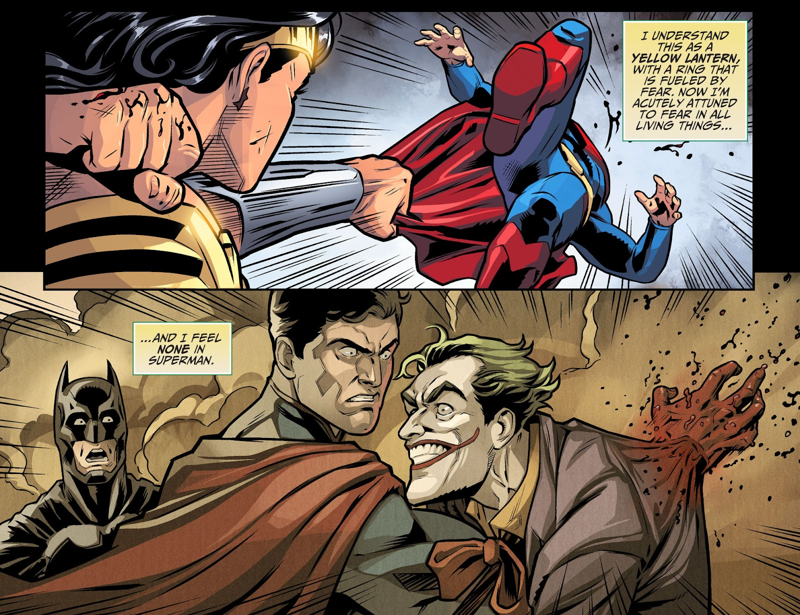 Injustice: Gods Among Us Year Four Issue #9 #10 - English 16