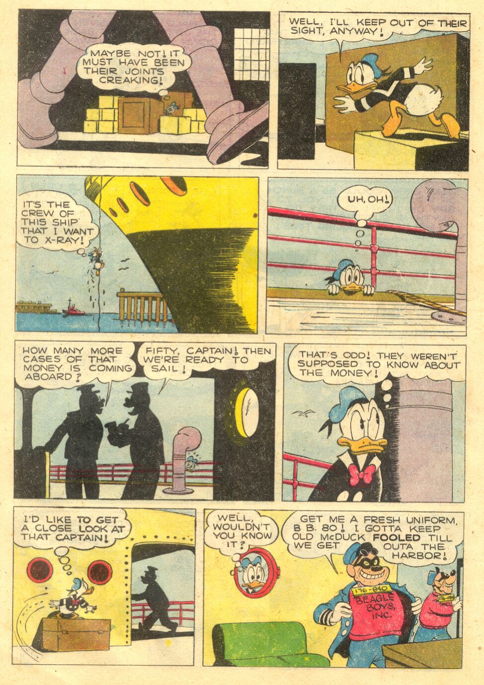 Uncle Scrooge (1953) Issue #4 #4 - English 8