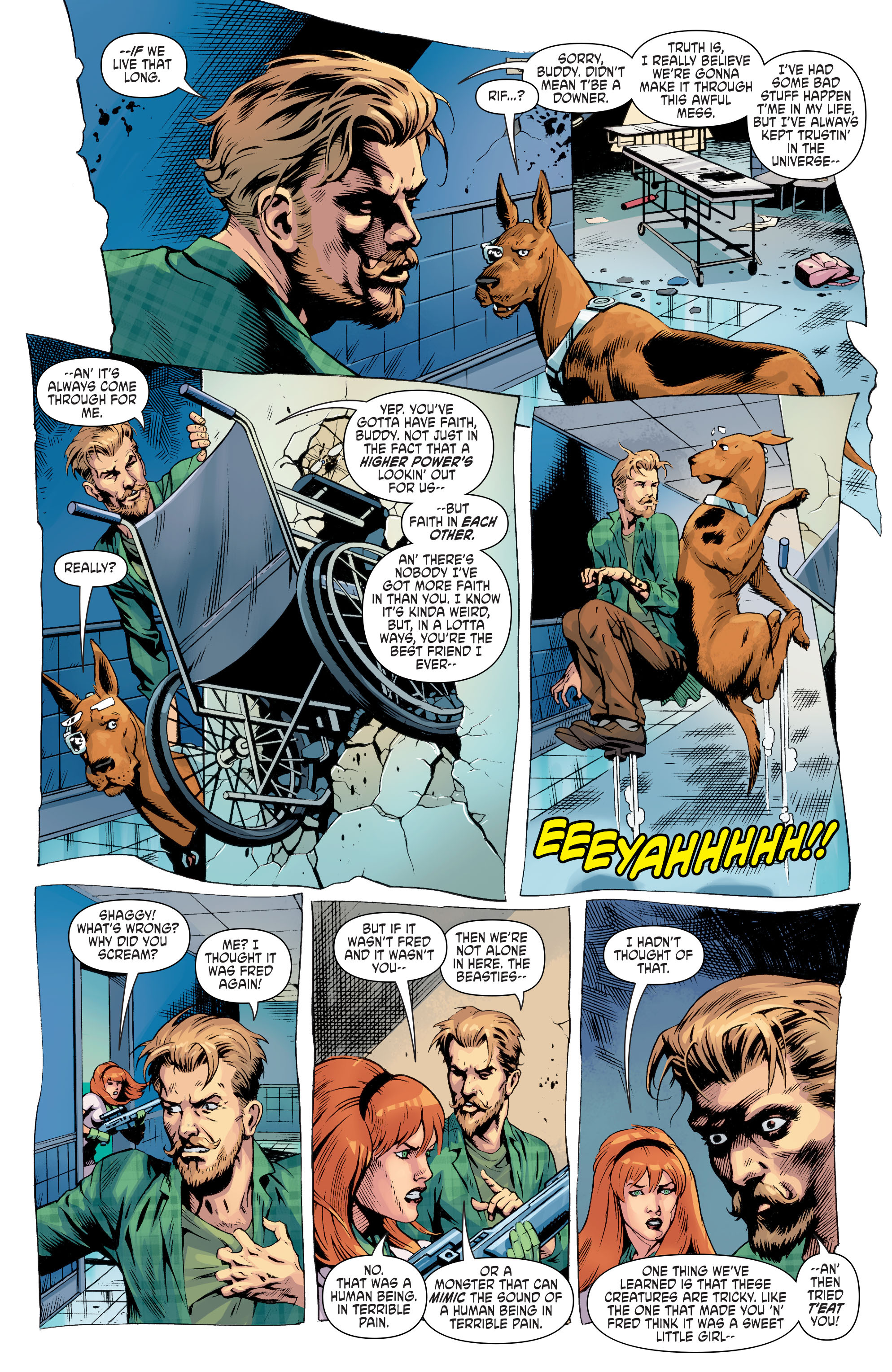 Read online Scooby Apocalypse comic -  Issue #8 - 8