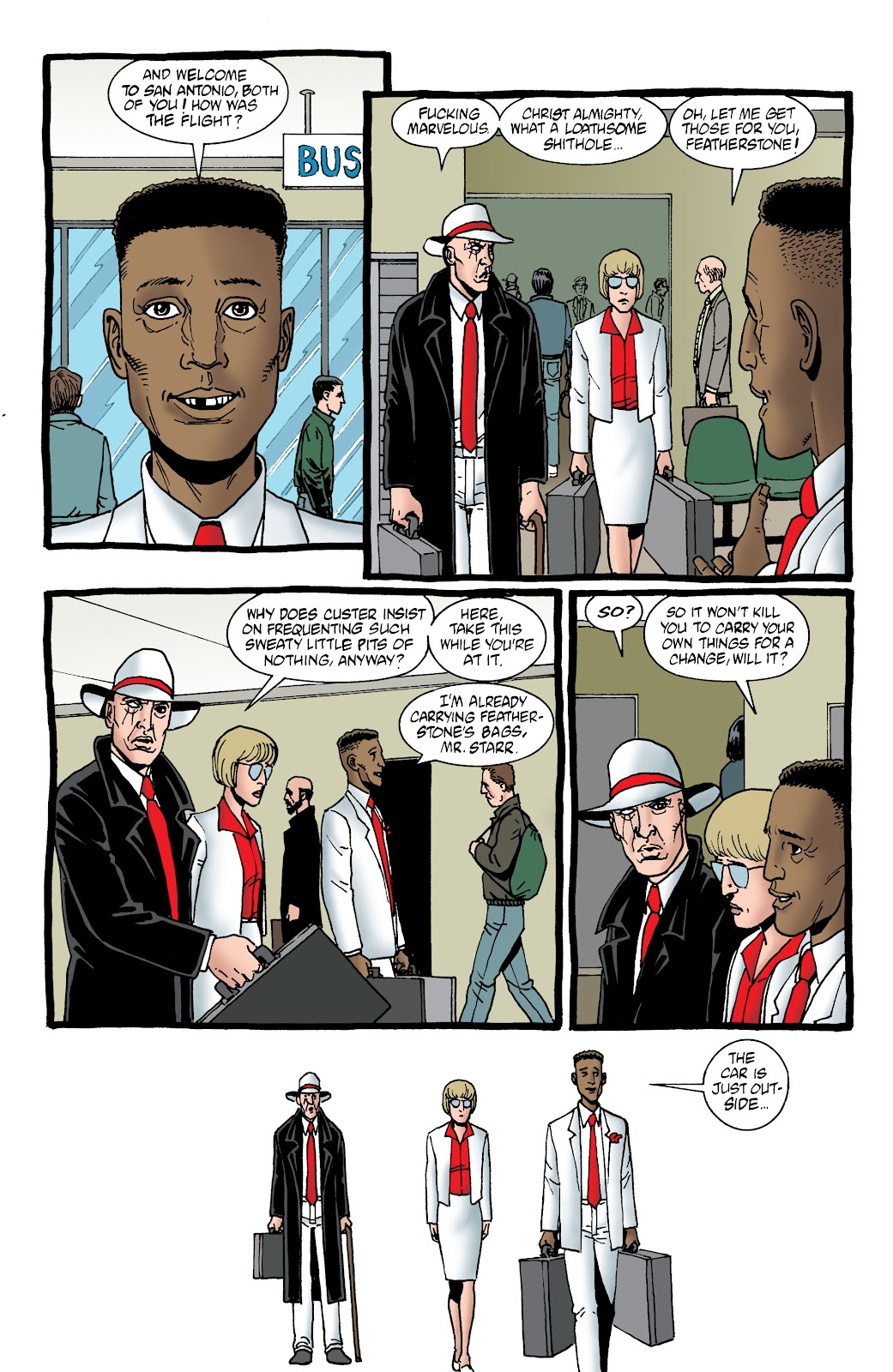 Preacher Issue #62 #71 - English 9