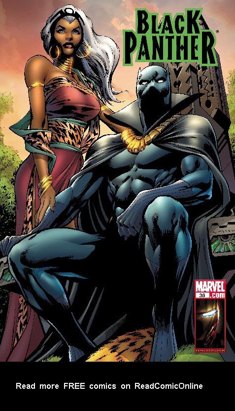 Black Panther (2005) 36 Page 1