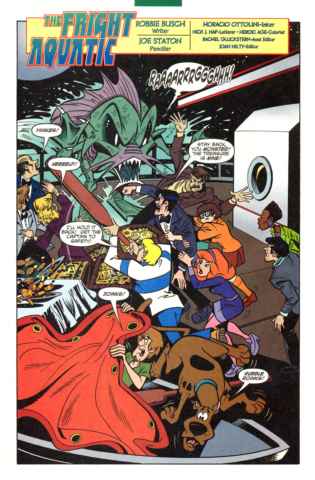 Read online Scooby-Doo (1997) comic -  Issue #99 - 3