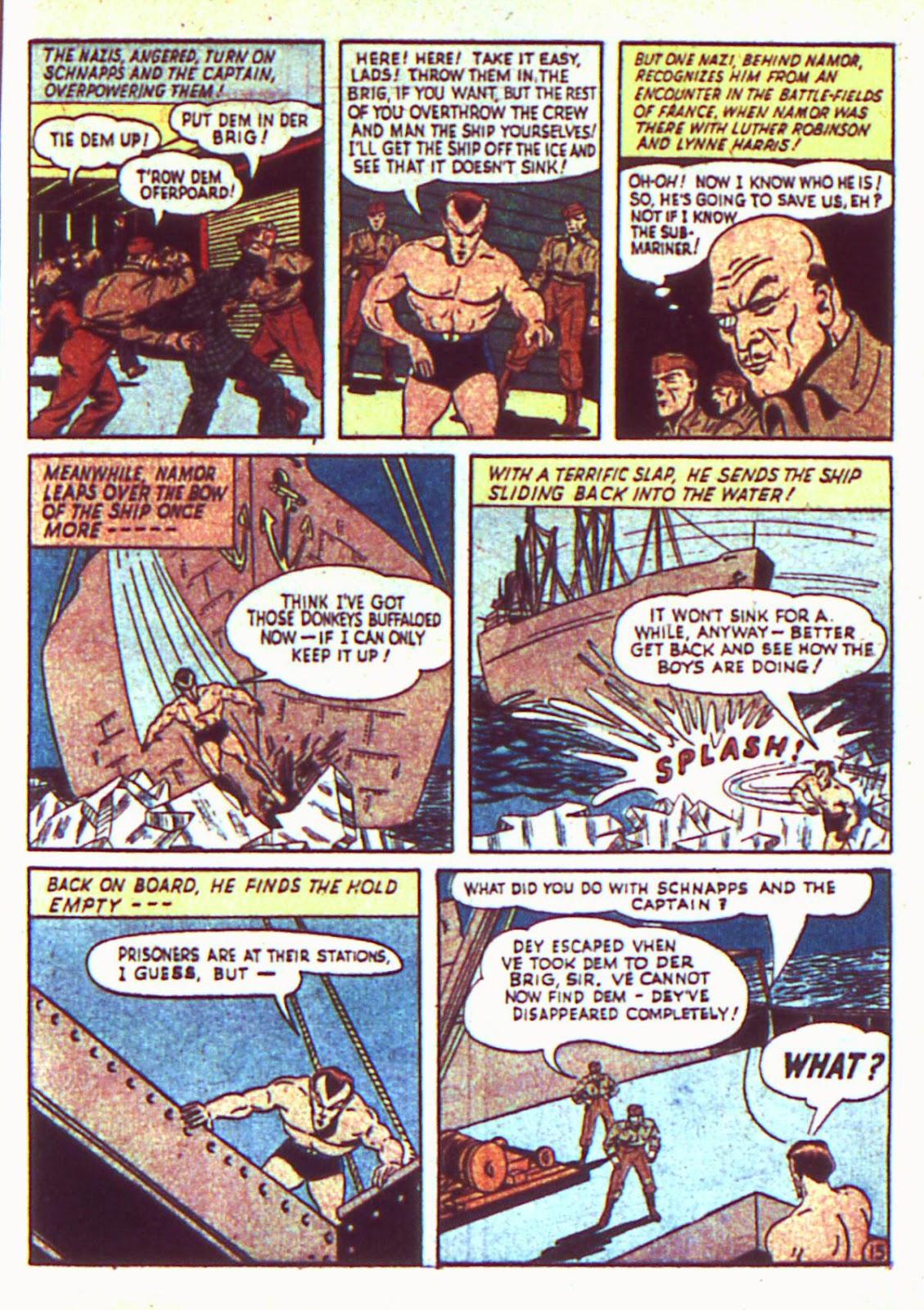 Sub-Mariner Comics Issue #2 #2 - English 17