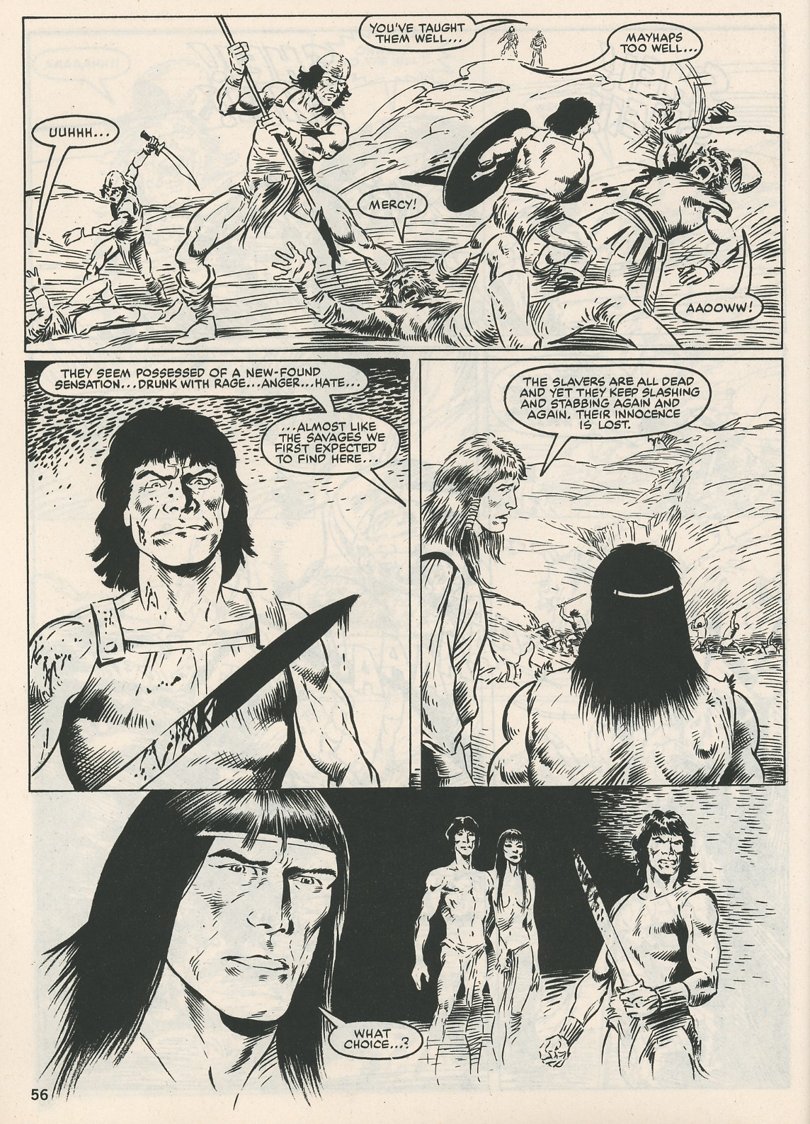 The Savage Sword Of Conan Issue #115 #116 - English 56