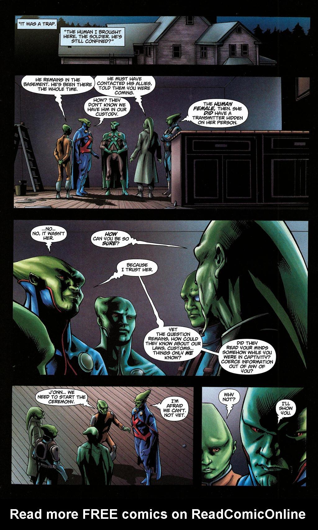 Read online Martian Manhunter (2006) comic -  Issue #5 - 21