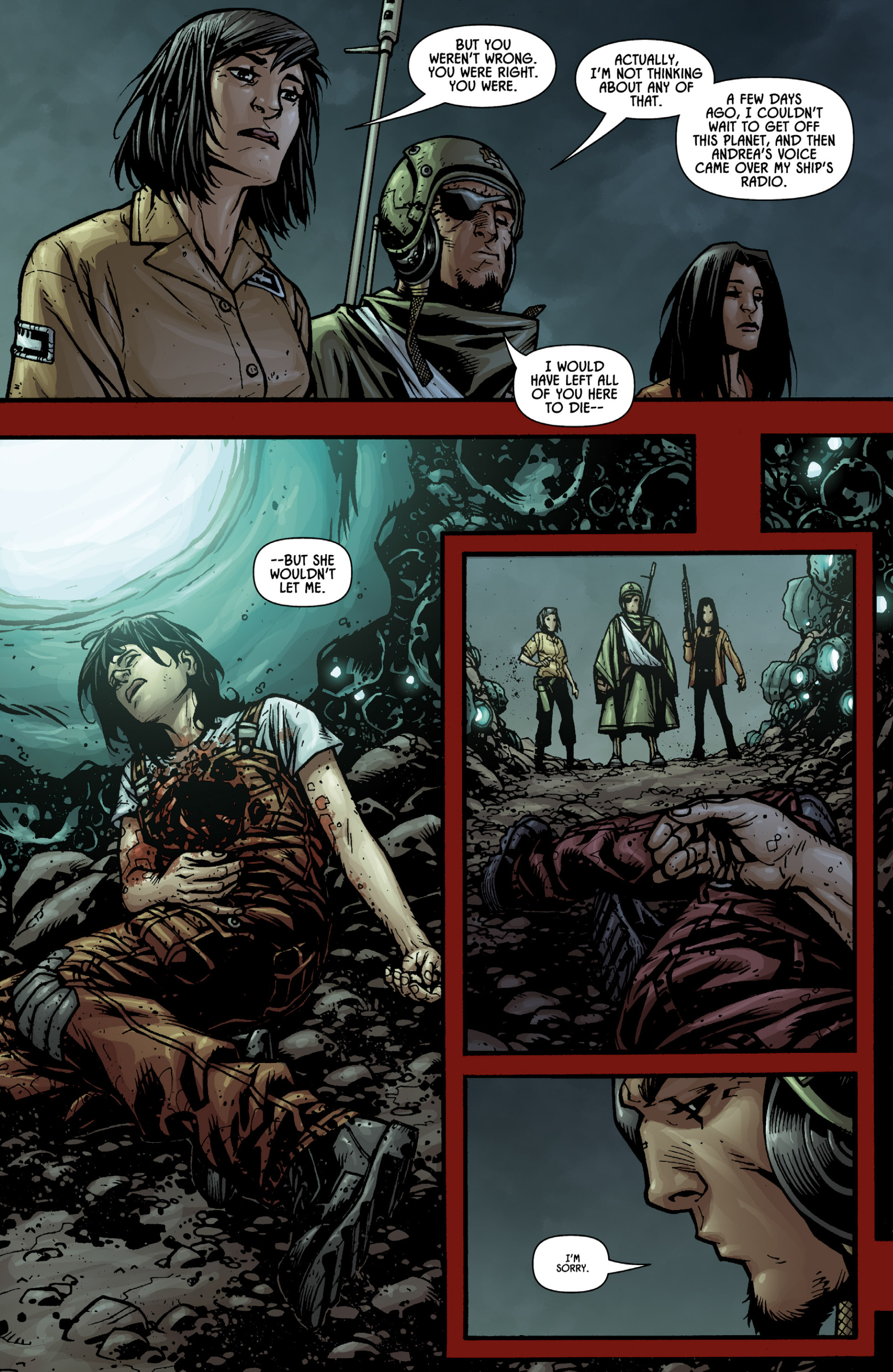 Aliens (2009) TPB Page 95