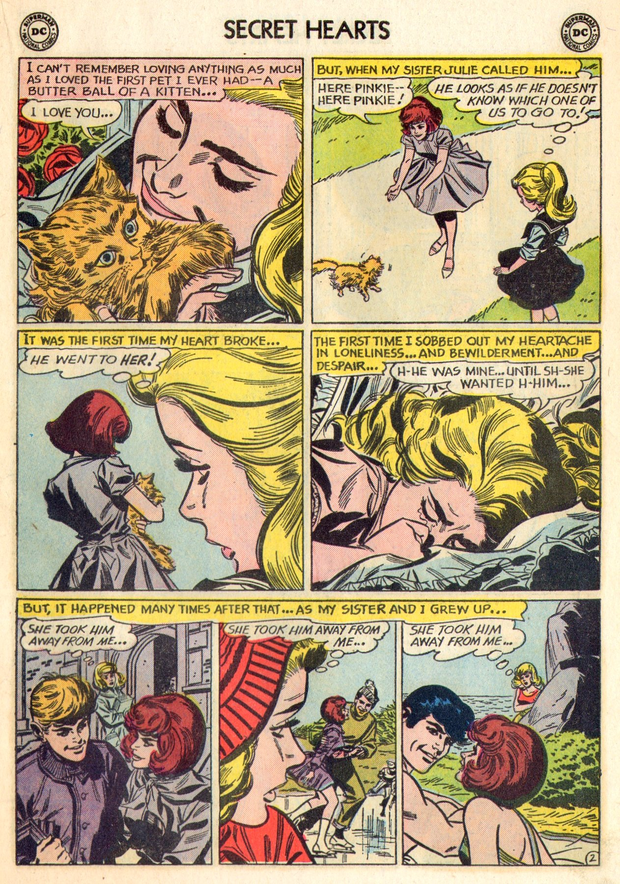 Read online Secret Hearts comic -  Issue #84 - 19