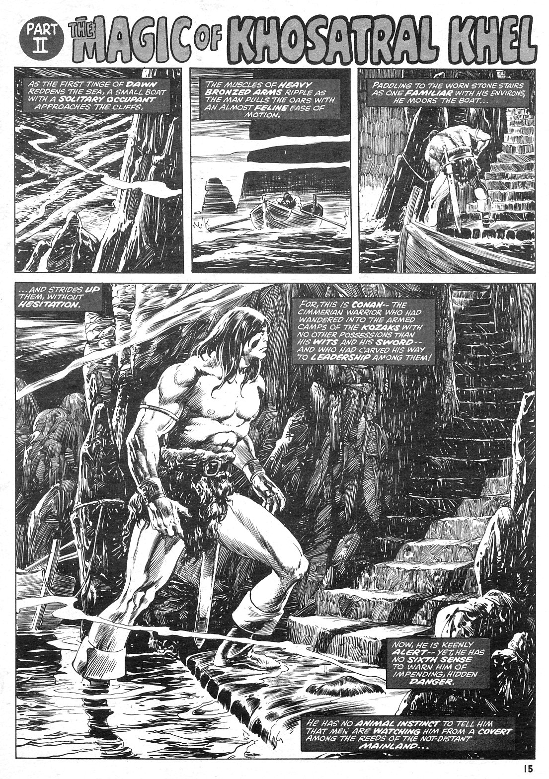 The Savage Sword Of Conan Issue #15 #16 - English 15