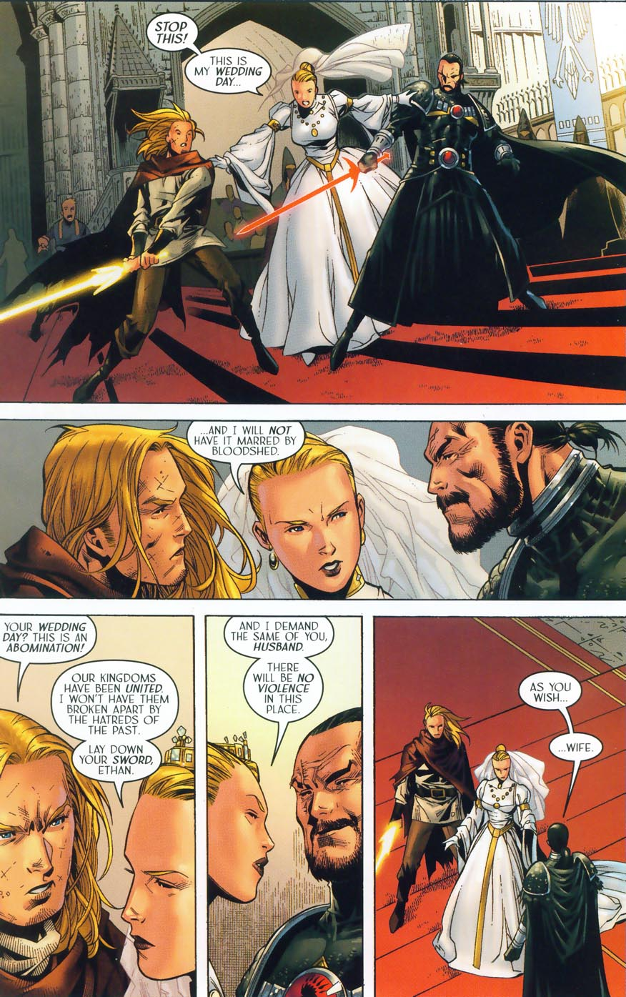 Read online Scion comic -  Issue #36 - 7