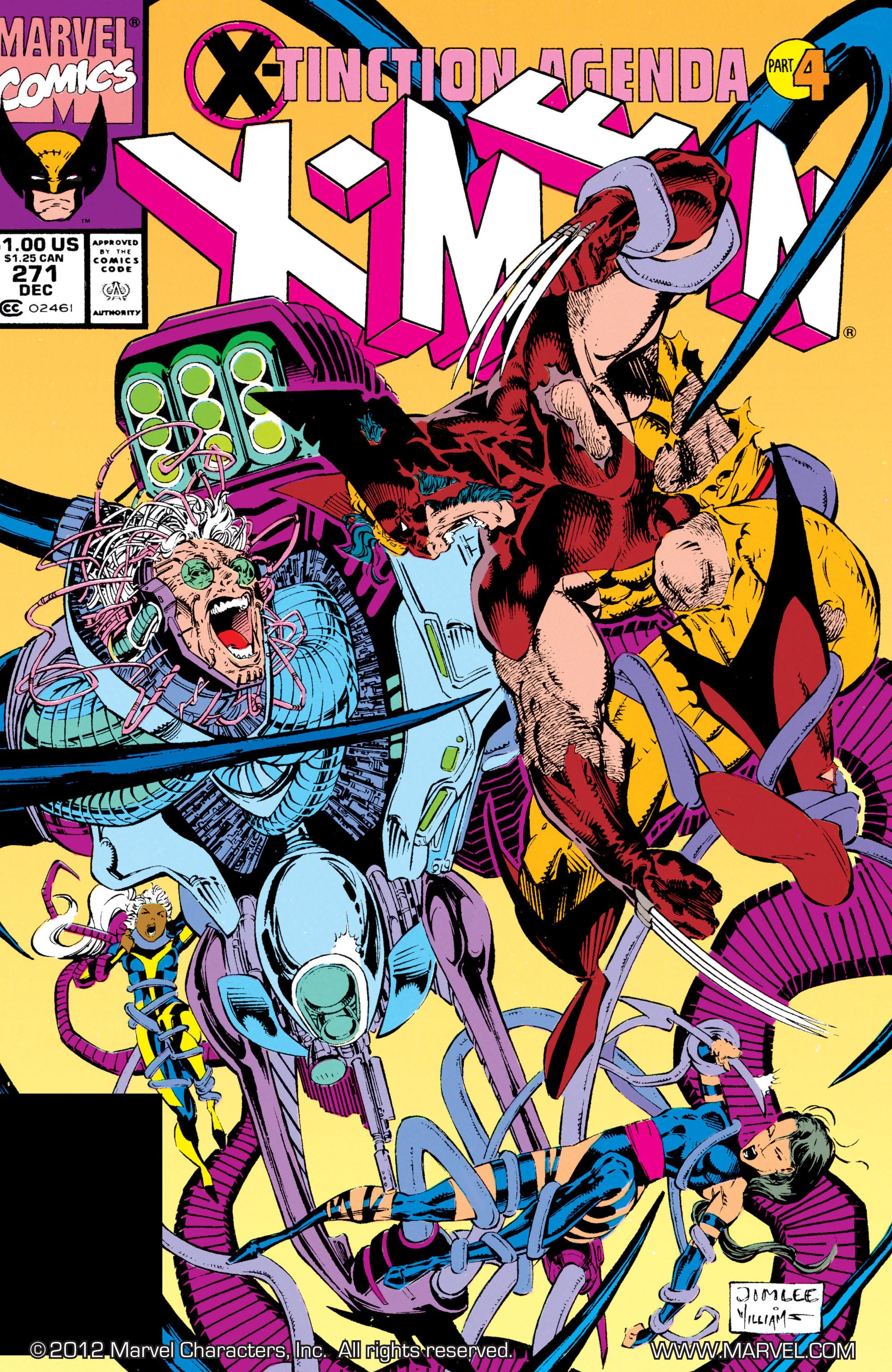 Uncanny X-Men (1963) 271 Page 1