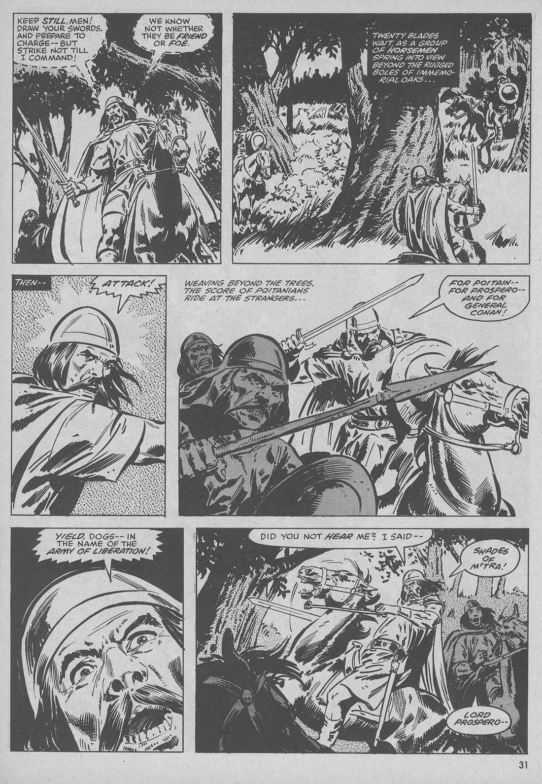 The Savage Sword Of Conan Issue #51 #52 - English 31