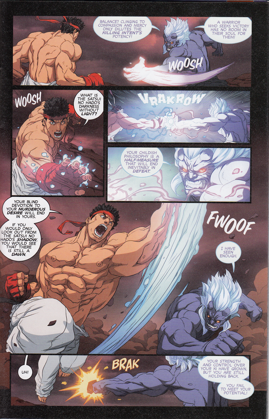 Street Fighter Unlimited Issue #12 #14 - English 5