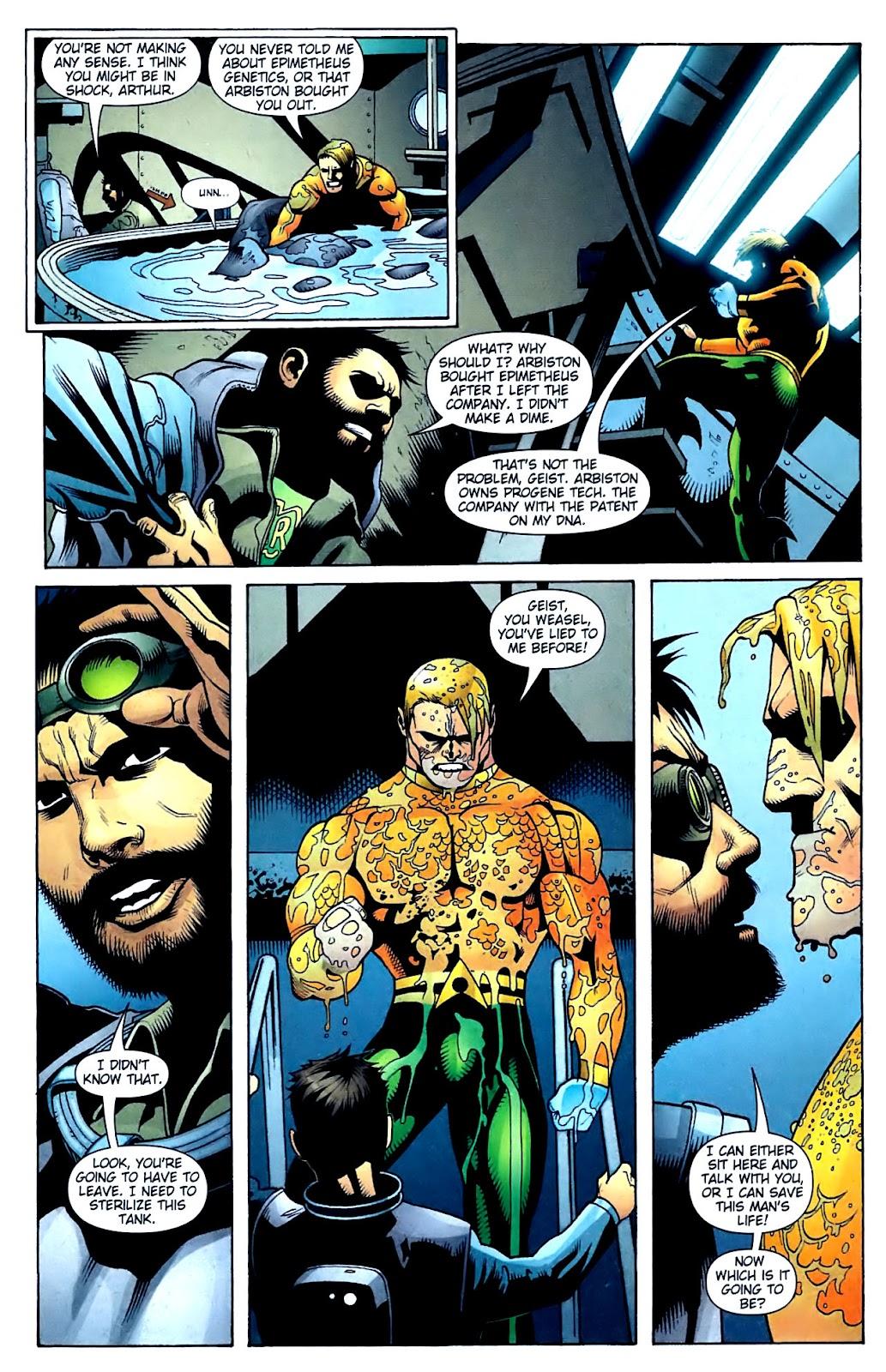Aquaman (2003) Issue #32 #32 - English 16