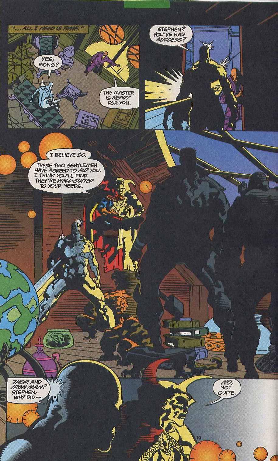 Read online Secret Defenders comic -  Issue #9 - 8