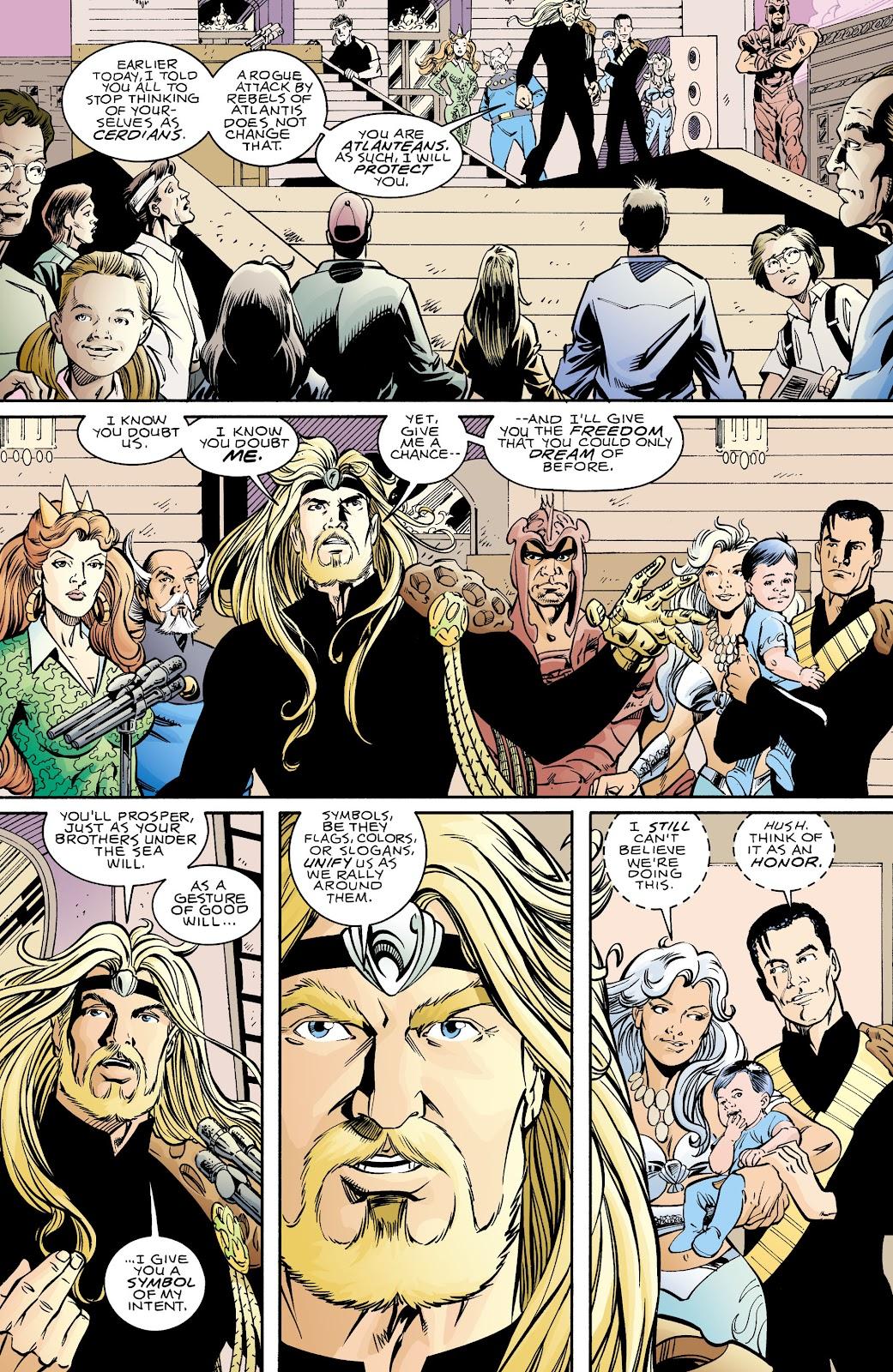 Aquaman (1994) Issue #70 #76 - English 21
