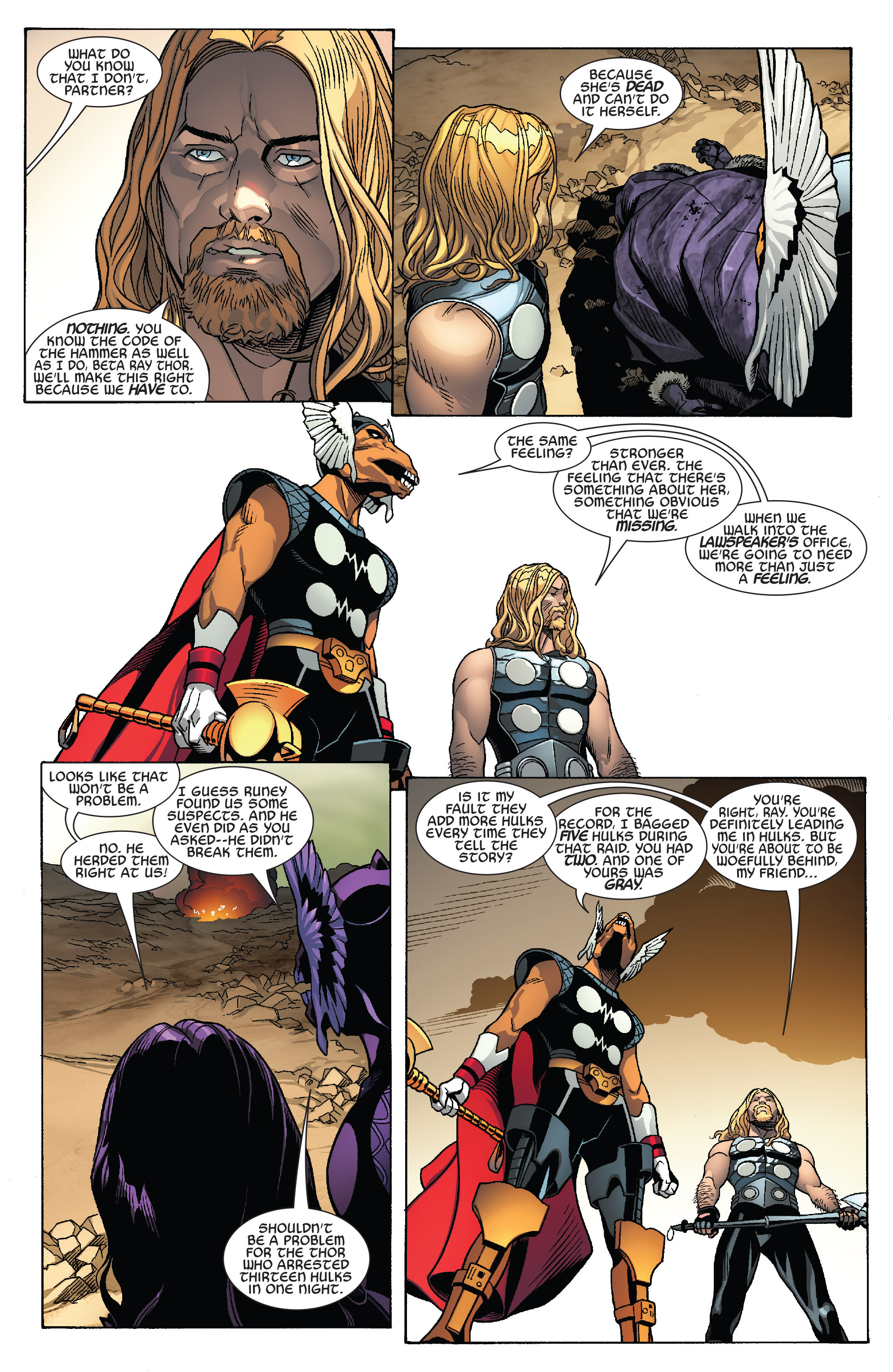 Thors #1 #4 - English 9