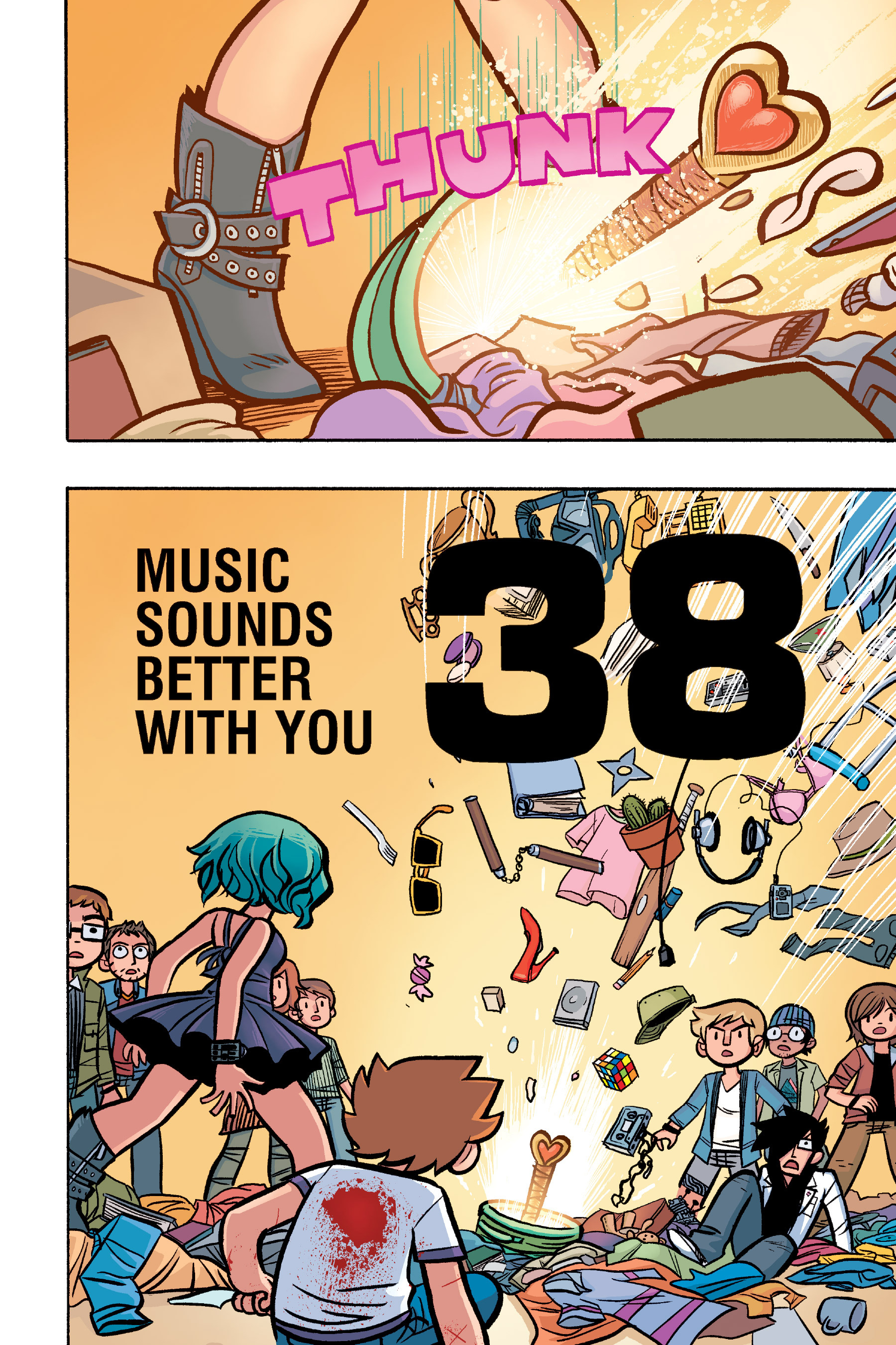 Read online Scott Pilgrim comic -  Issue #6 - 189