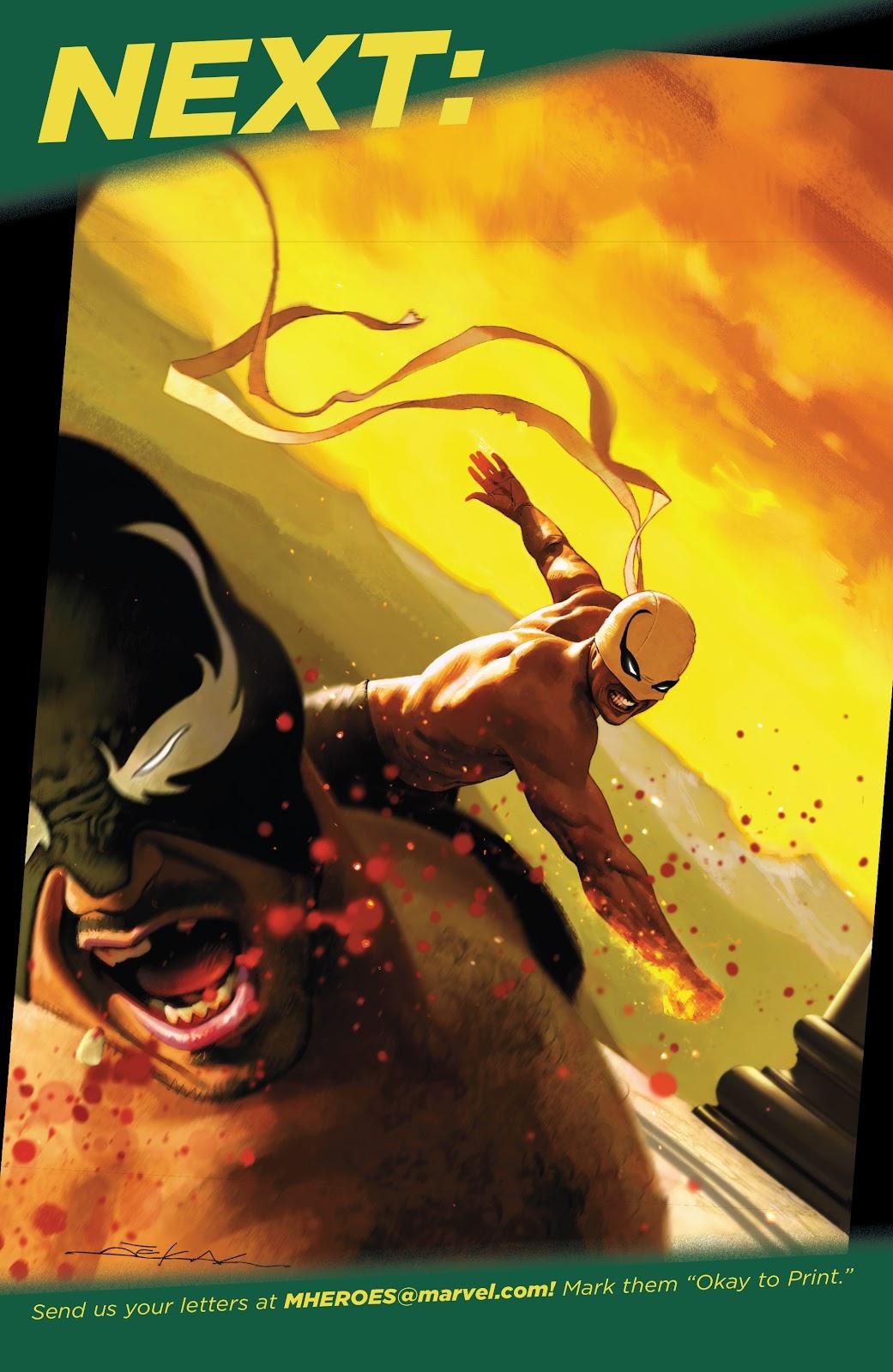 Iron Fist (2017) Issue #4 #4 - English 24