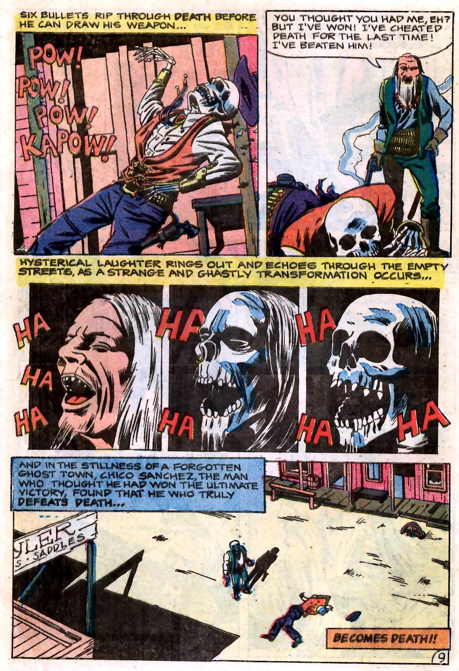 Read online Scary Tales comic -  Issue #2 - 25