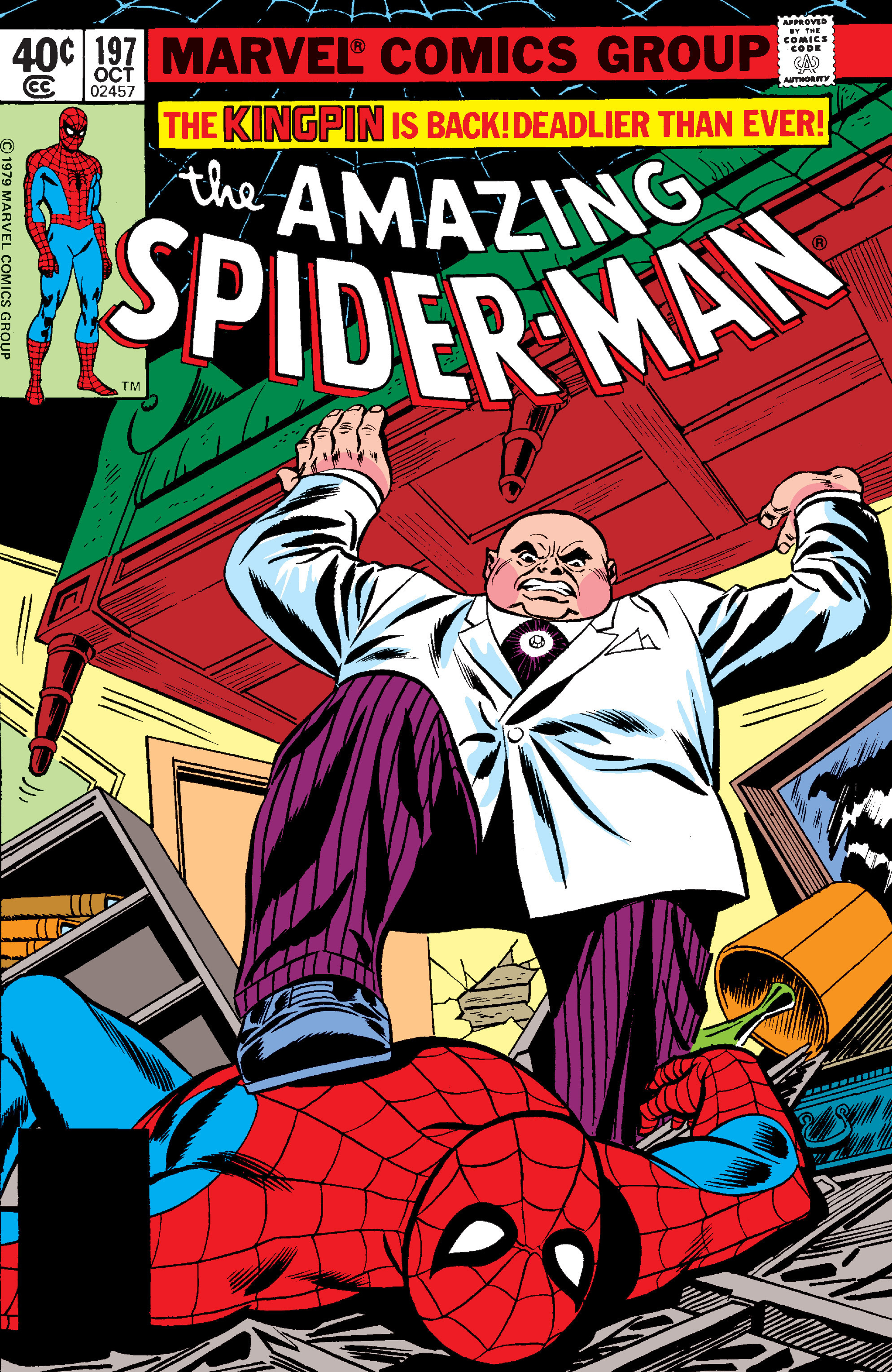 The Amazing Spider-Man (1963) 197 Page 1