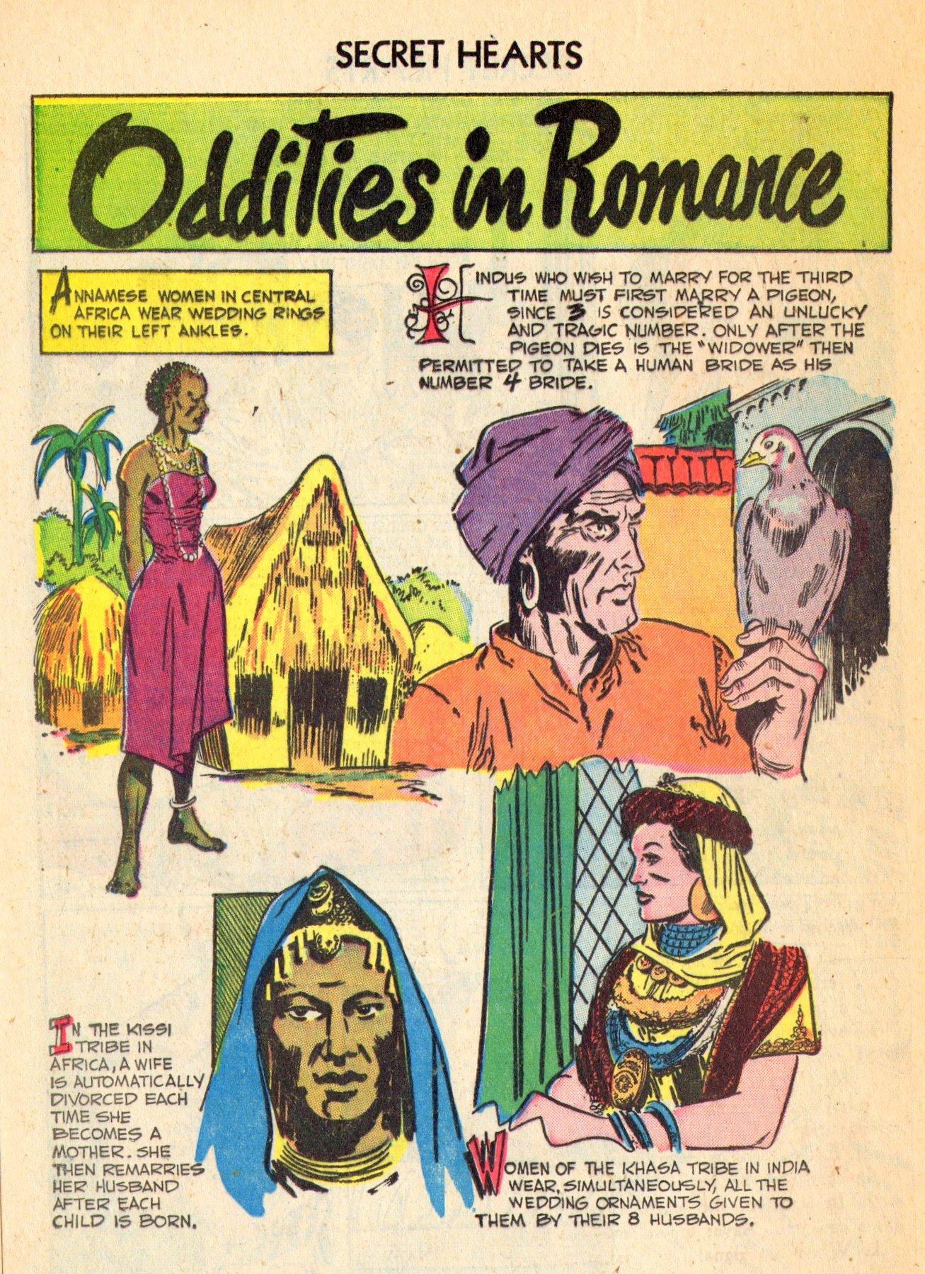 Read online Secret Hearts comic -  Issue #18 - 24