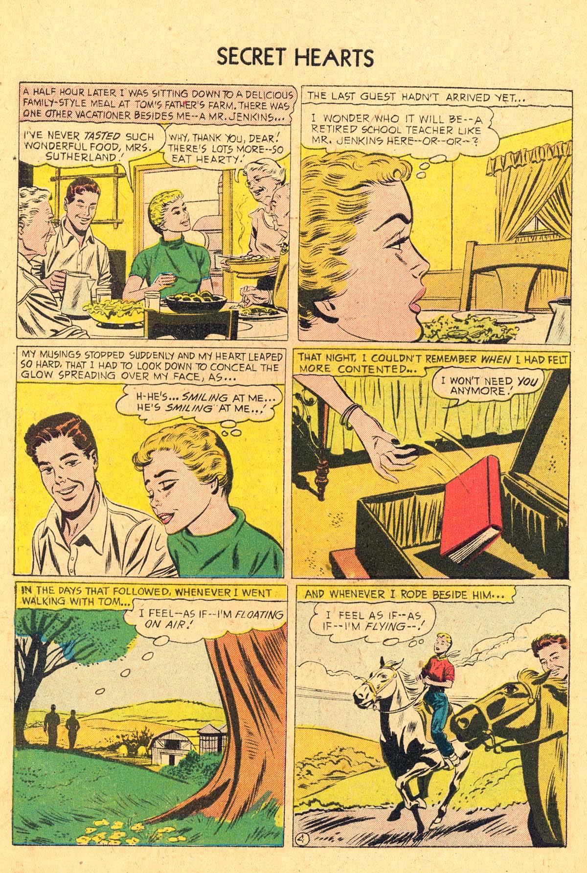 Read online Secret Hearts comic -  Issue #36 - 30