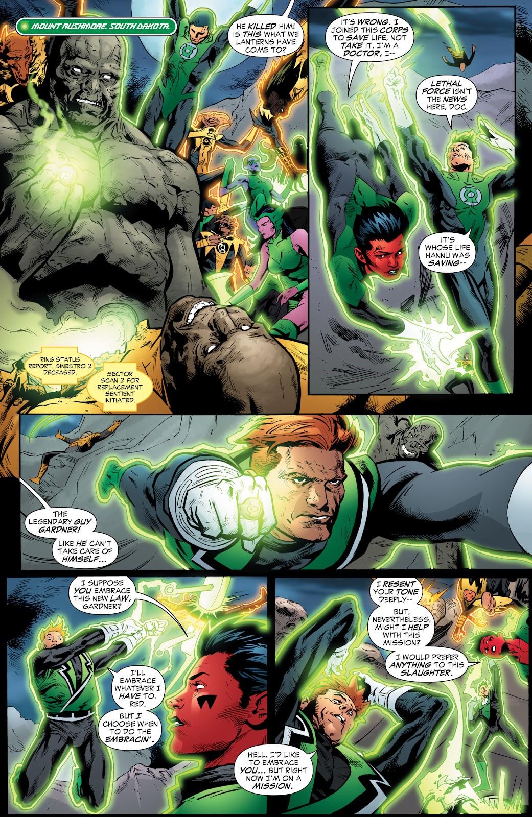 Green Lantern: The Sinestro Corps War Full #1 - English 207