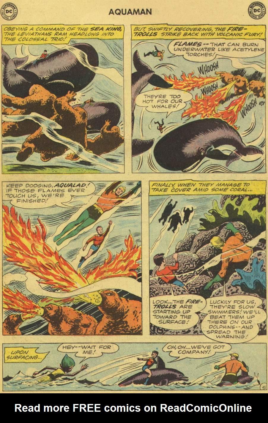 Read online Aquaman (1962) comic -  Issue #1 - 7