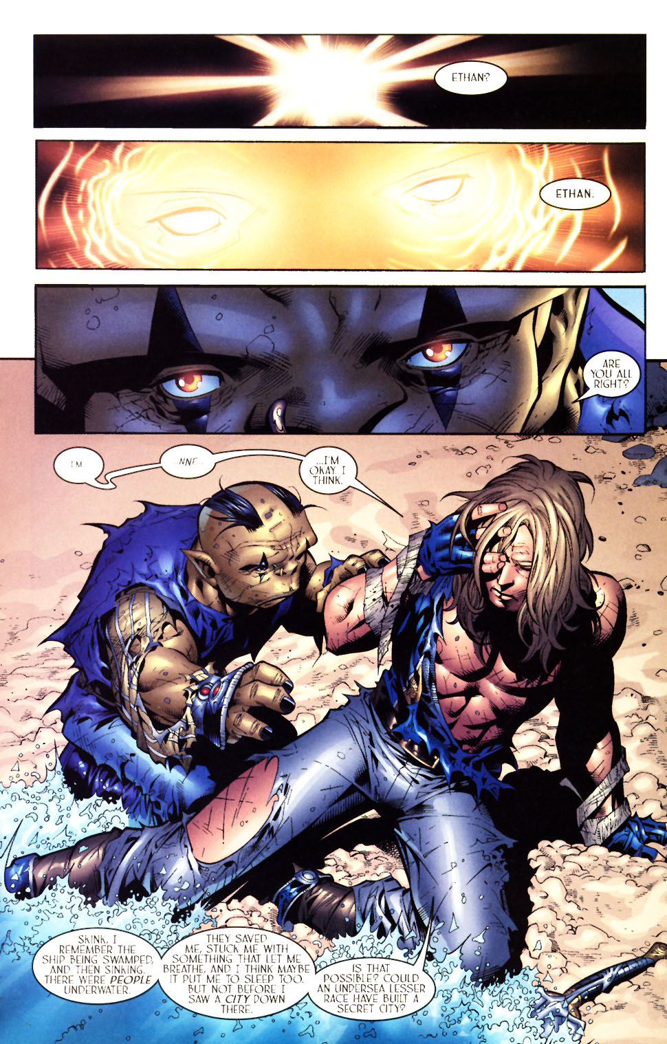 Read online Scion comic -  Issue #5 - 15