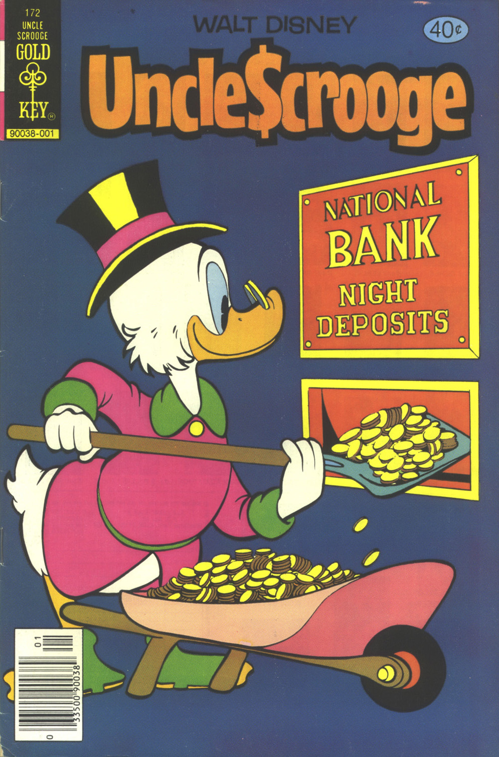 Uncle Scrooge (1953) Issue #172 #172 - English 1