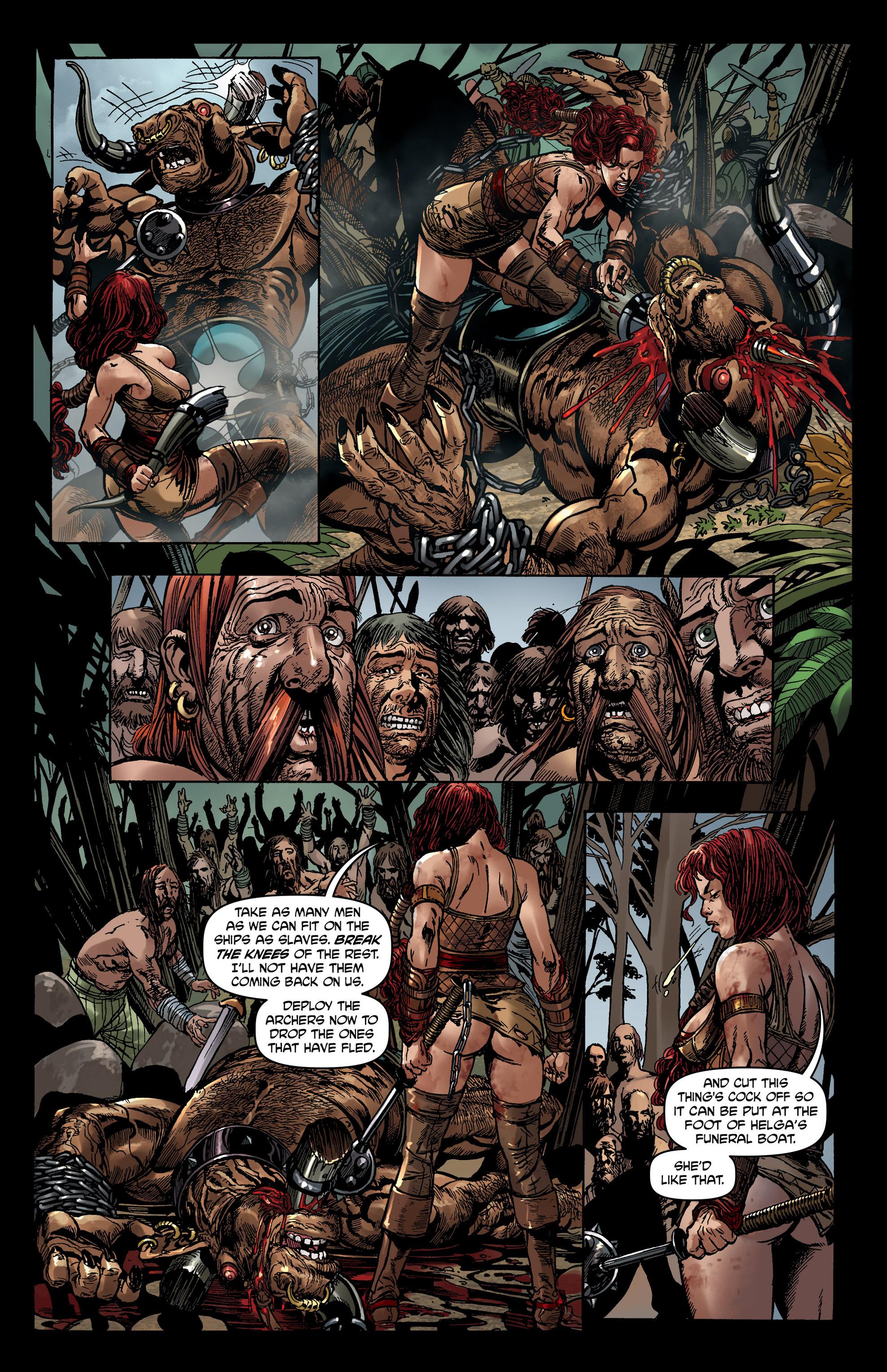 Read online Belladonna comic -  Issue #0 - 9
