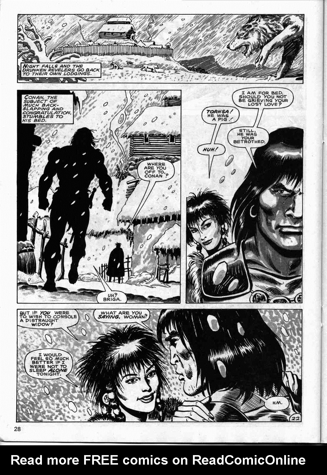 The Savage Sword Of Conan Issue #133 #134 - English 27