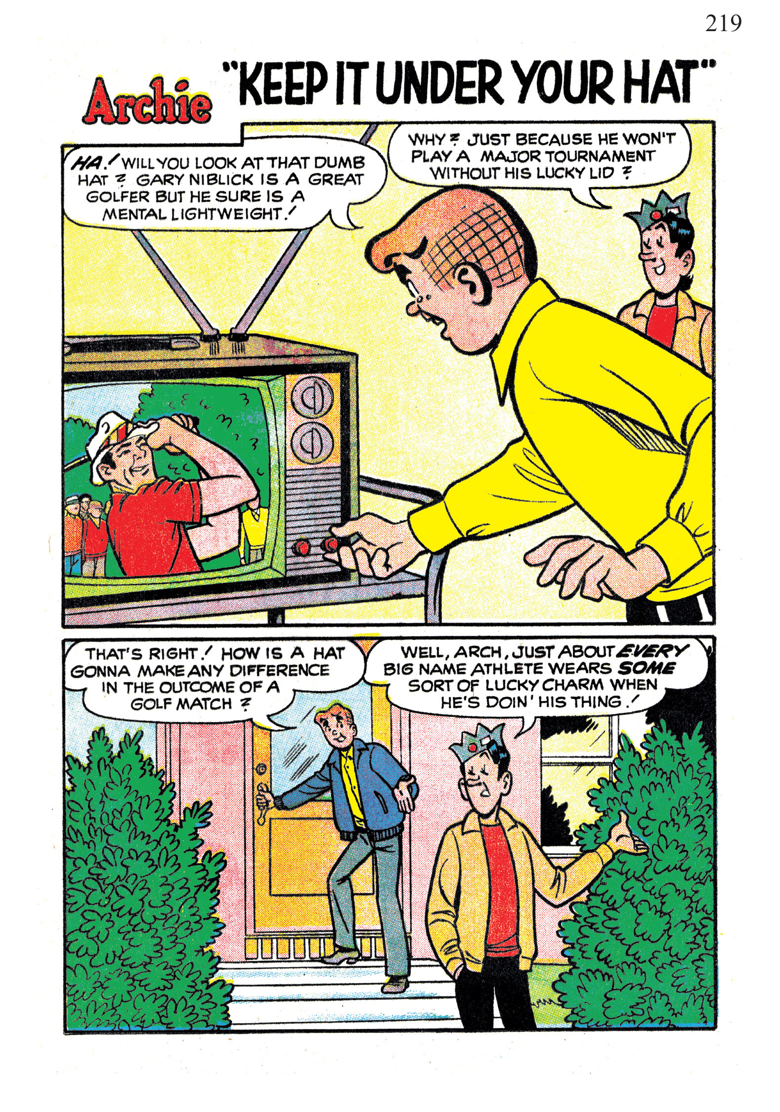 Read online The Best of Archie Comics comic -  Issue # TPB 1 (Part 1) - 215