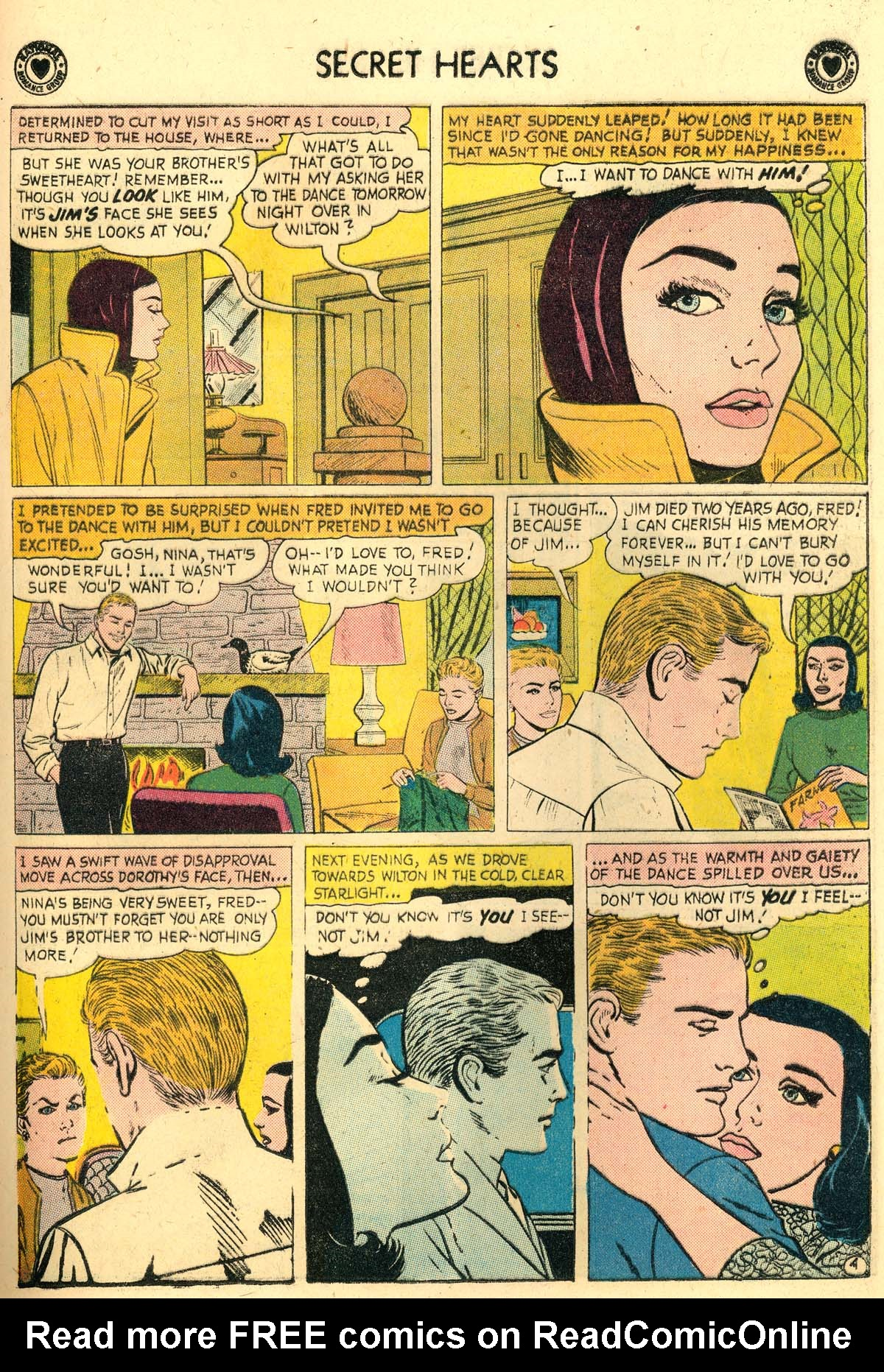 Read online Secret Hearts comic -  Issue #56 - 21