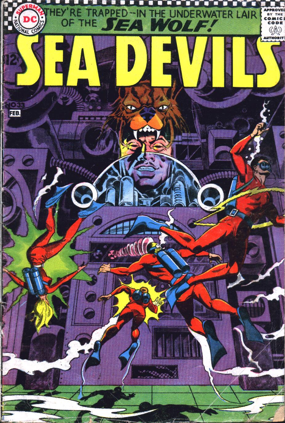 Read online Sea Devils comic -  Issue #33 - 2