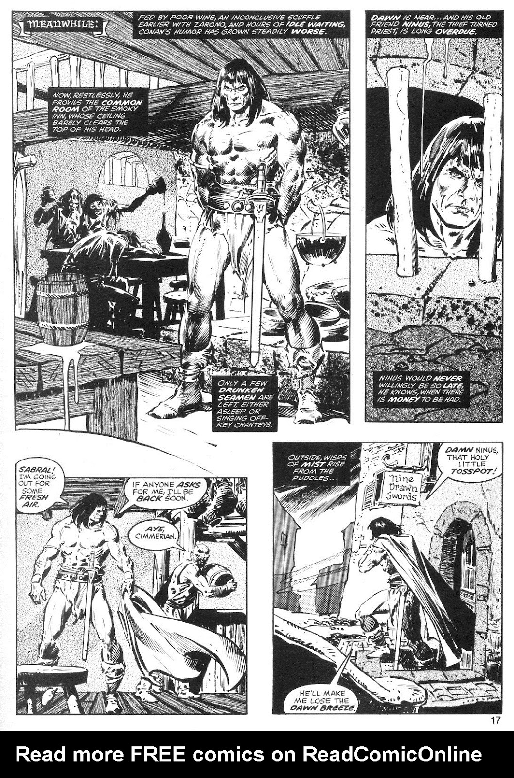 The Savage Sword Of Conan Issue #40 #41 - English 17