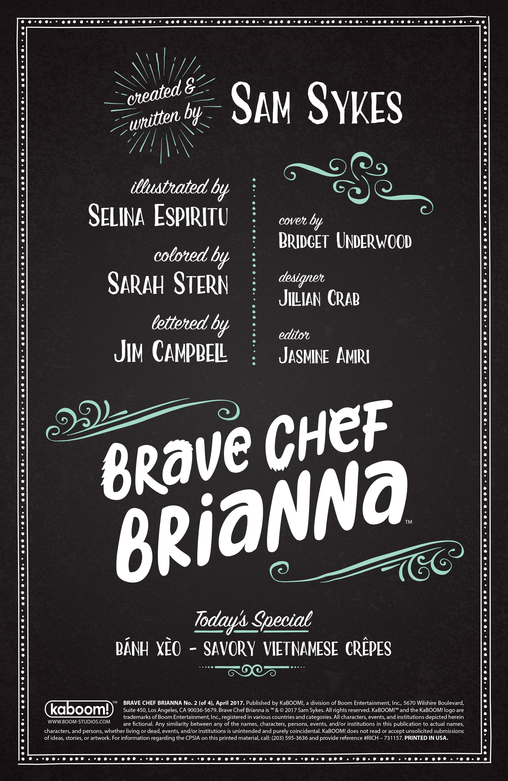Read online Brave Chef Brianna comic -  Issue #2 - 2
