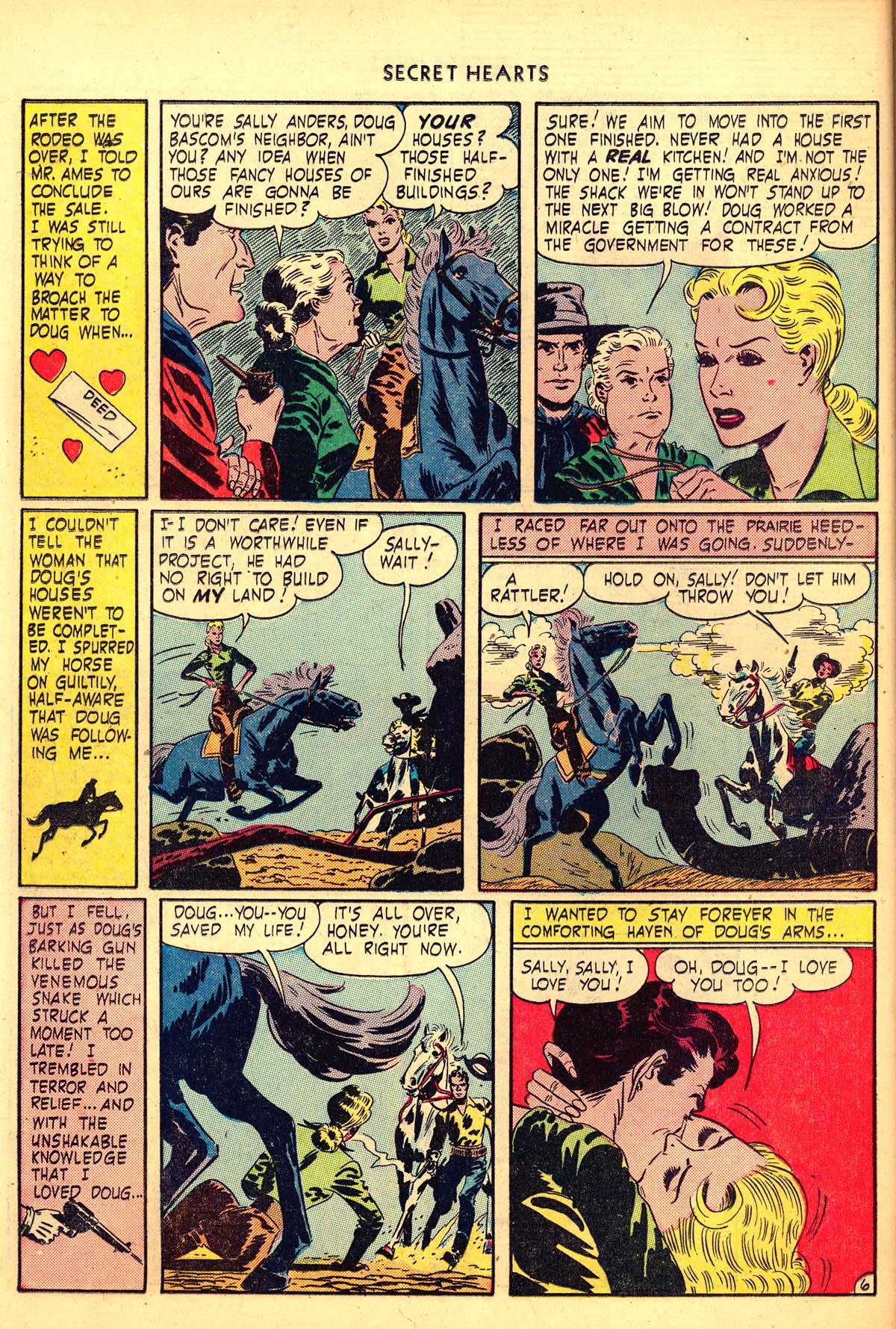 Read online Secret Hearts comic -  Issue #6 - 26