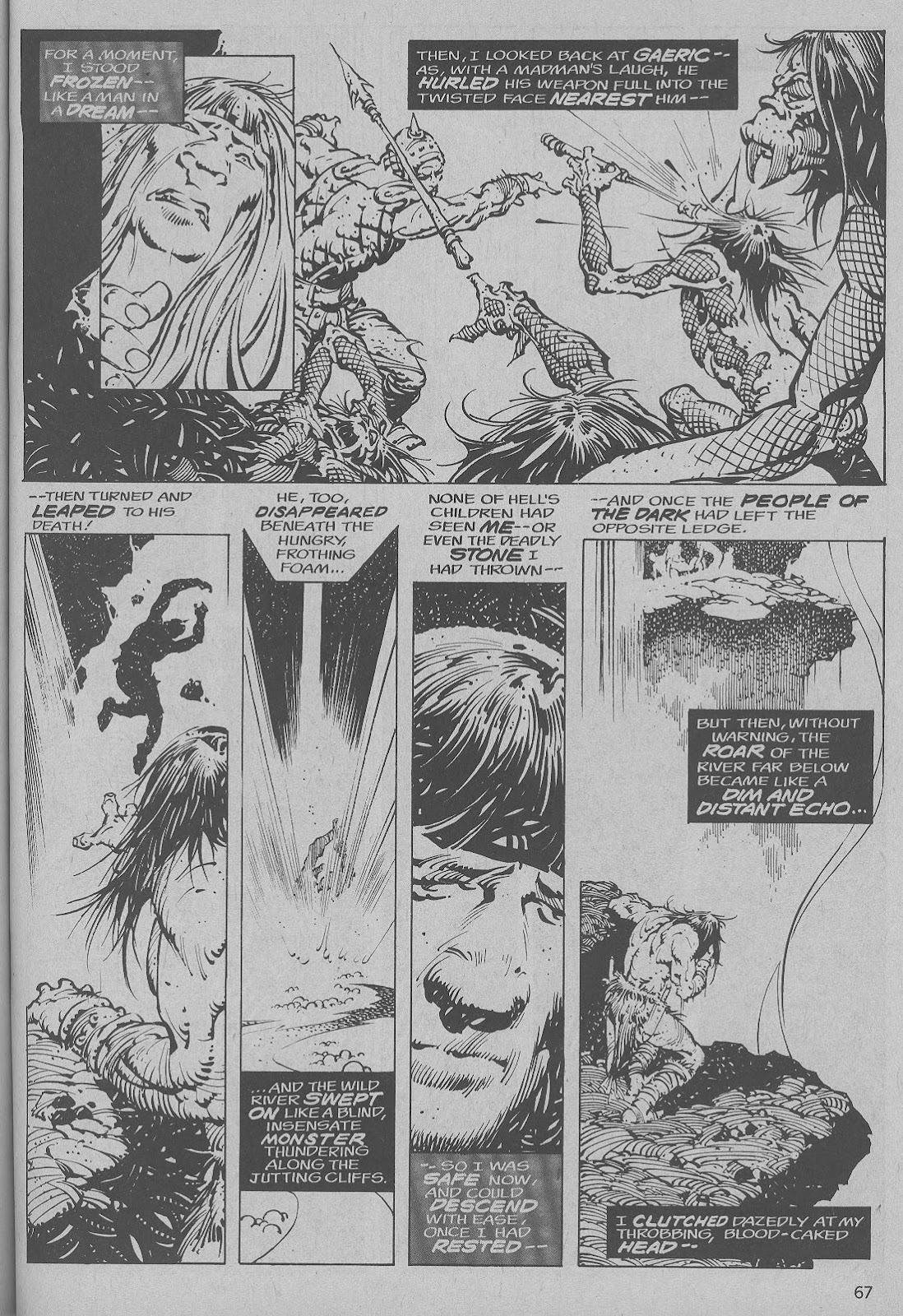 The Savage Sword Of Conan Issue #6 #7 - English 59