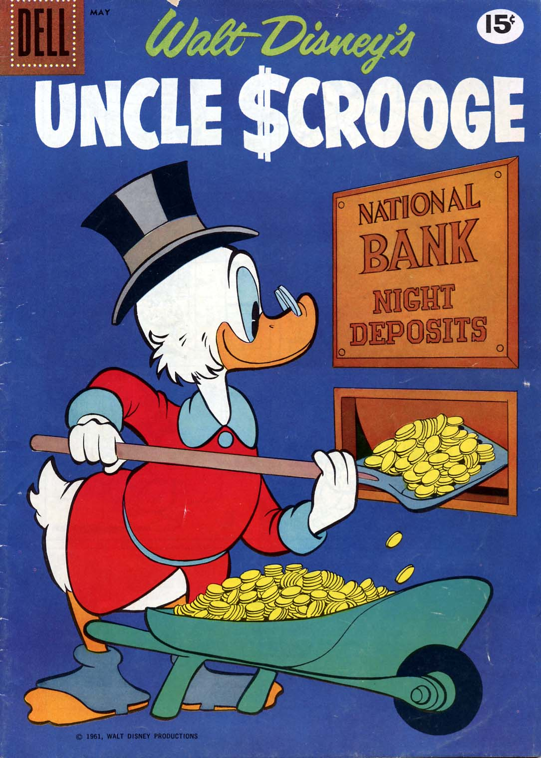 Uncle Scrooge (1953) Issue #33 #33 - English 1