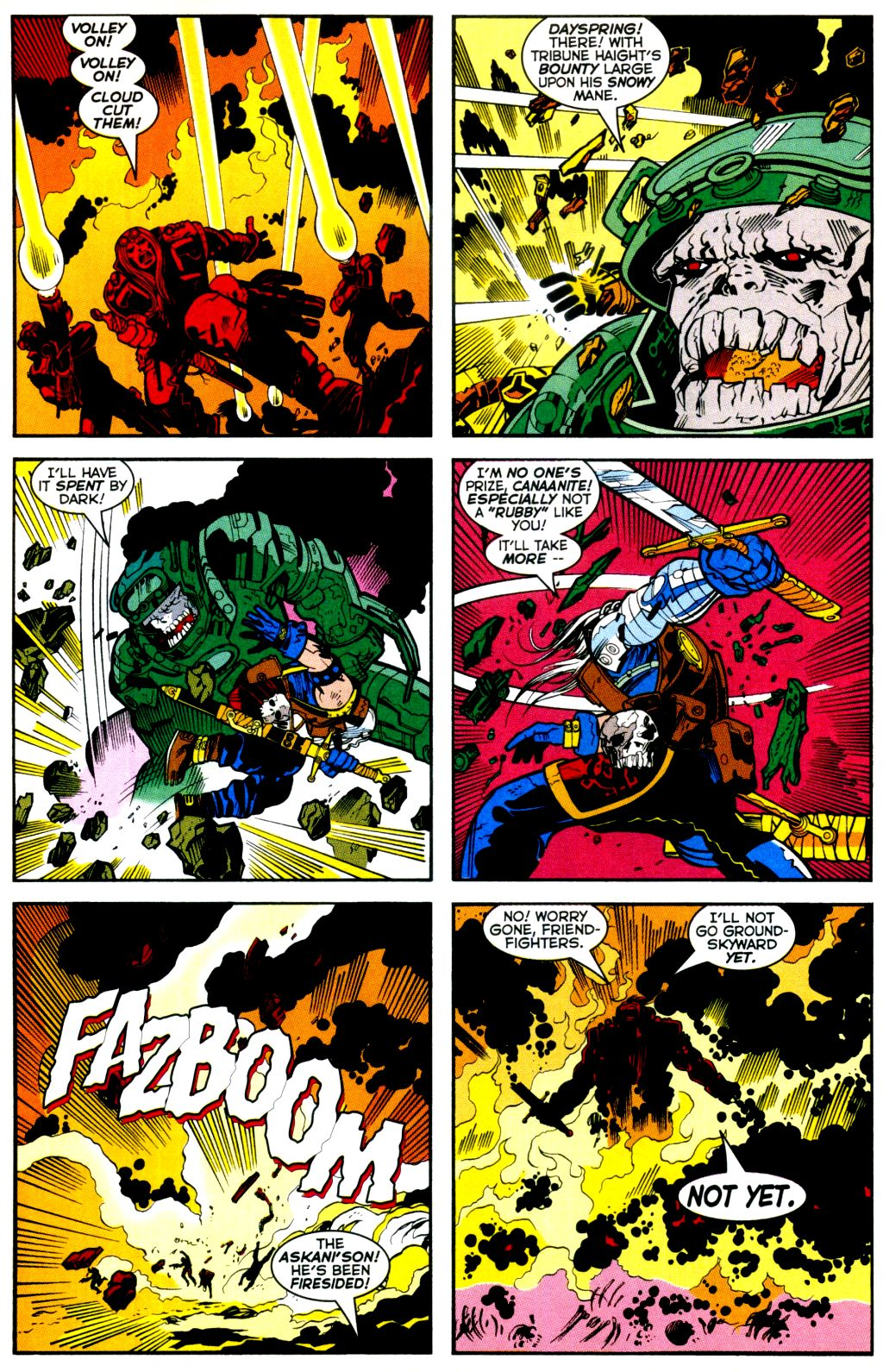Cable (1993) #-1 #109 - English 14
