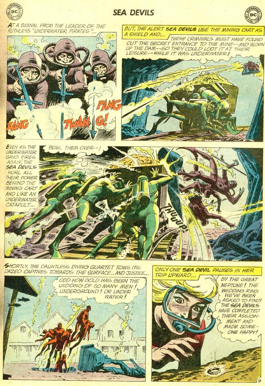 Read online Sea Devils comic -  Issue #10 - 14
