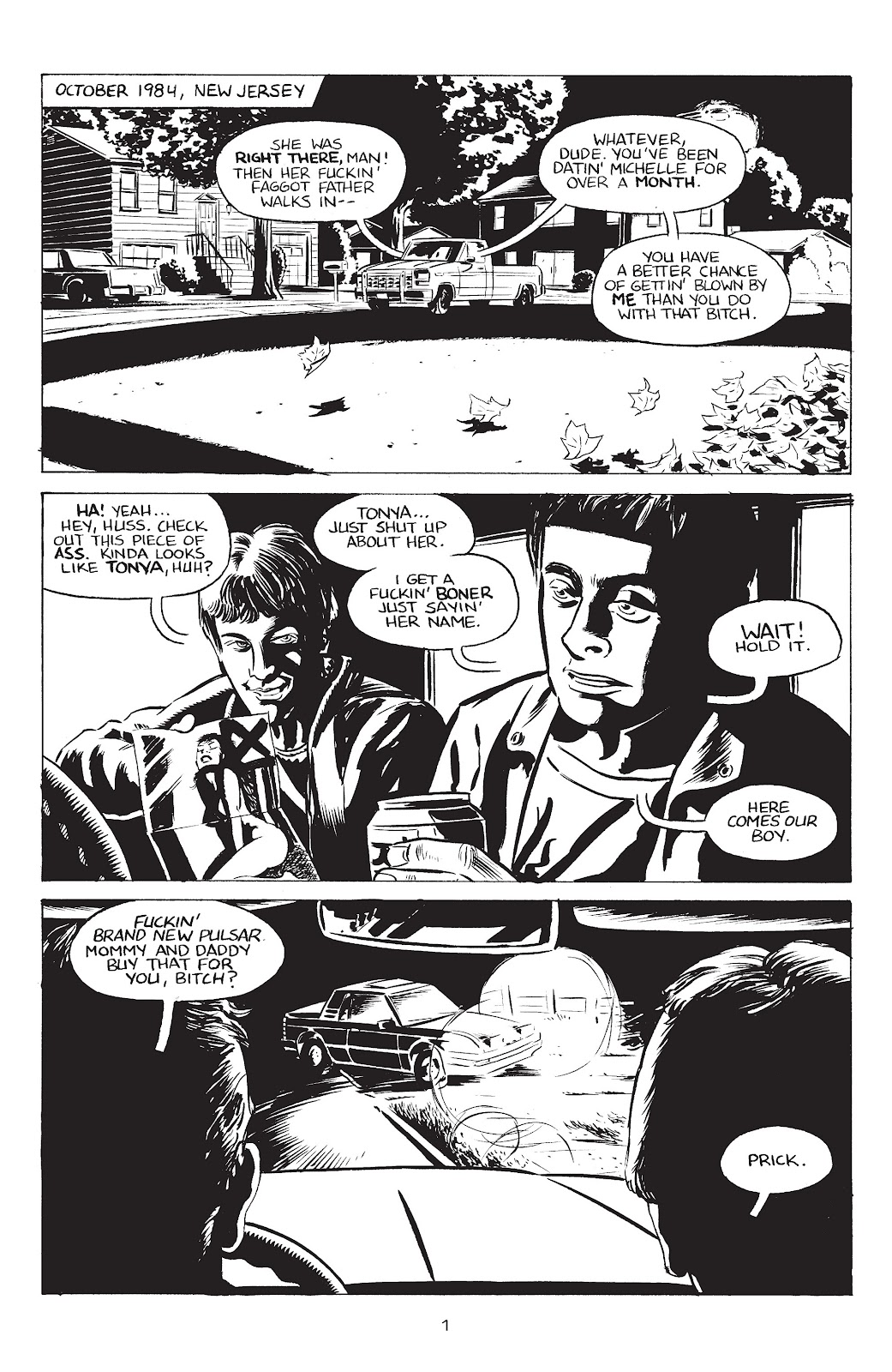 Stray Bullets Issue #34 #34 - English 3