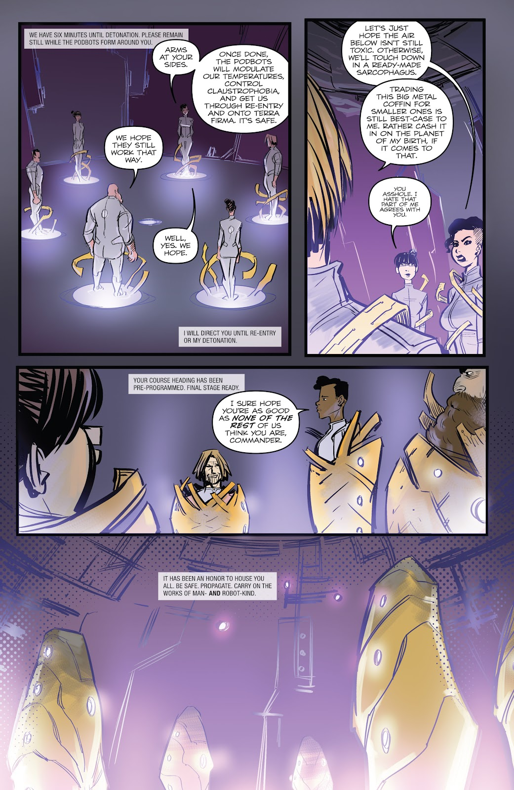 Zombies vs Robots (2015) Issue #2 Page 8