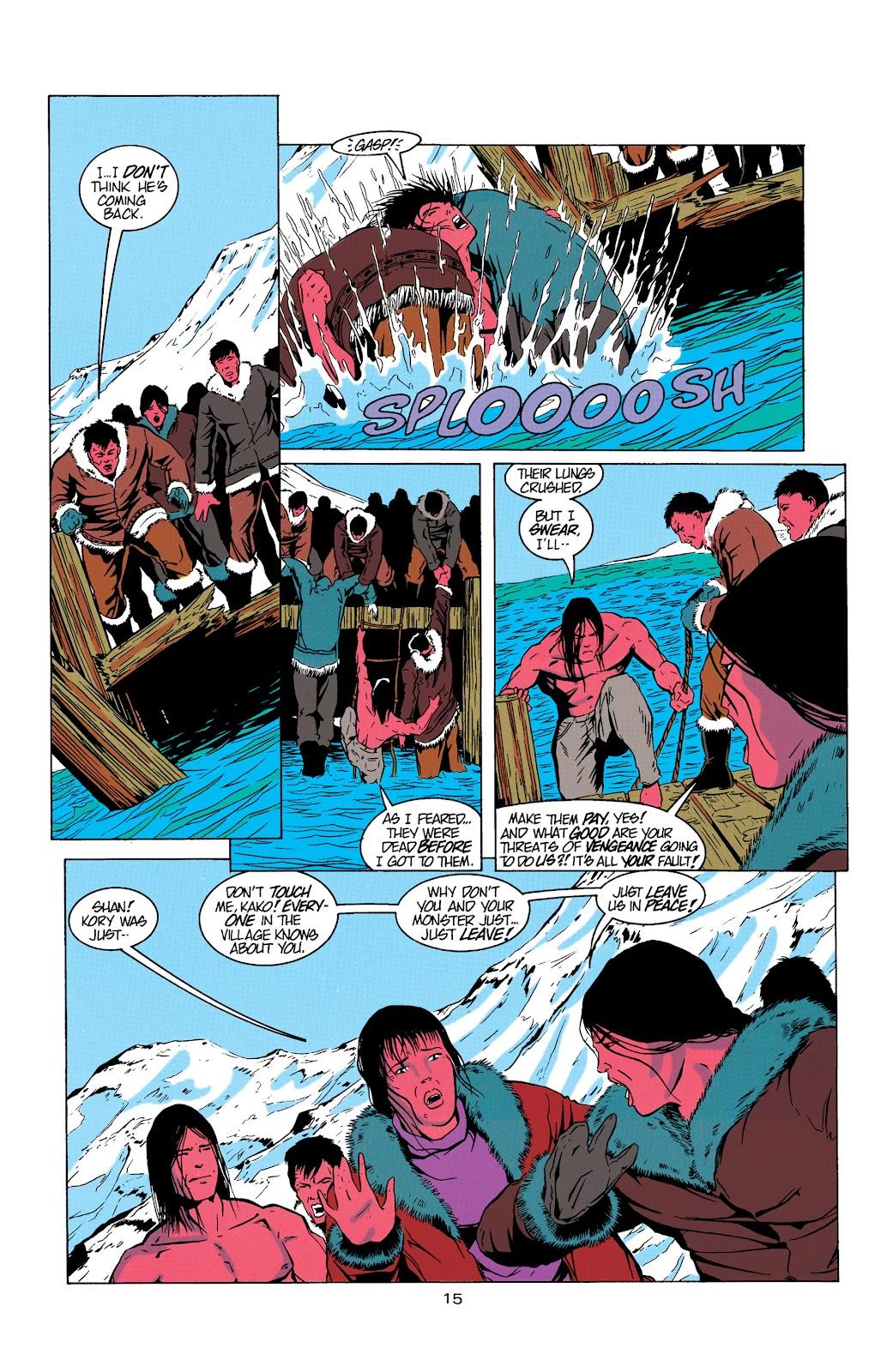 Aquaman (1994) Issue #5 #11 - English 16