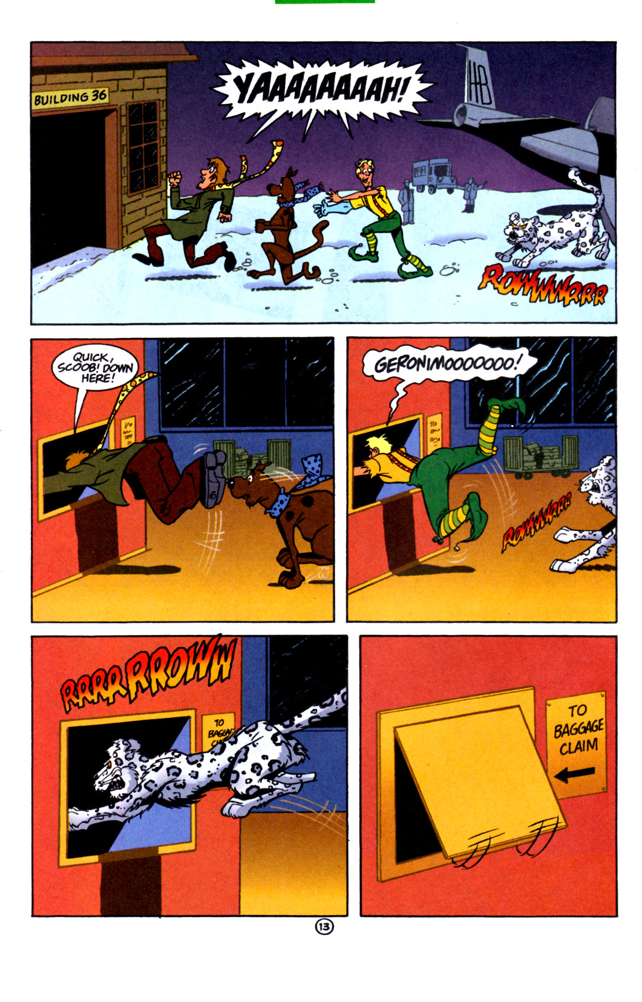 Read online Scooby-Doo (1997) comic -  Issue #7 - 14