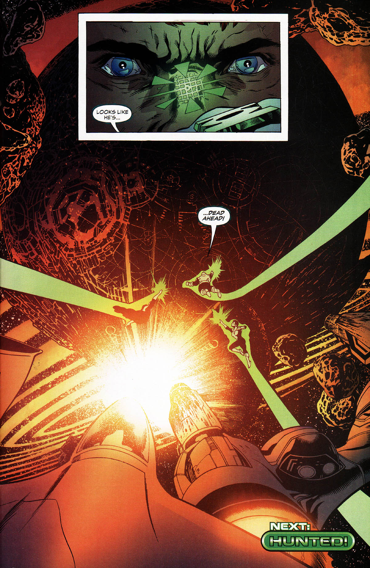 Read online Green Lantern Corps: Recharge comic -  Issue #3 - 21