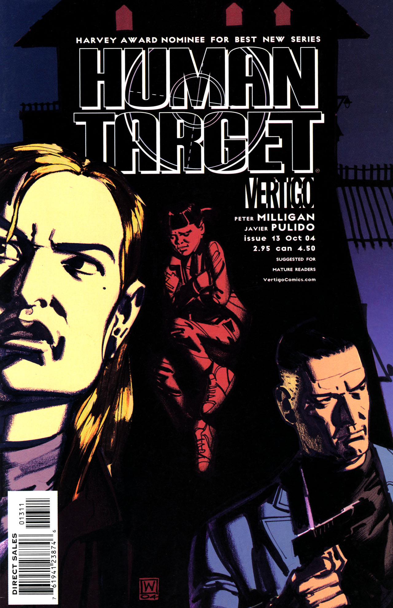 Human Target (2003) issue 13 - Page 1