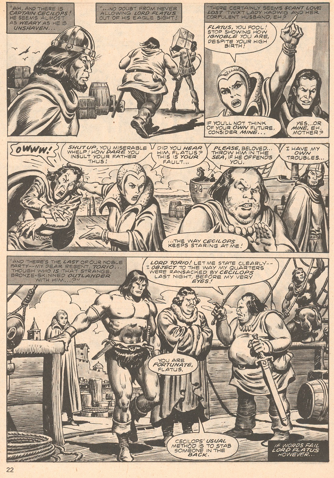 The Savage Sword Of Conan Issue #66 #67 - English 22